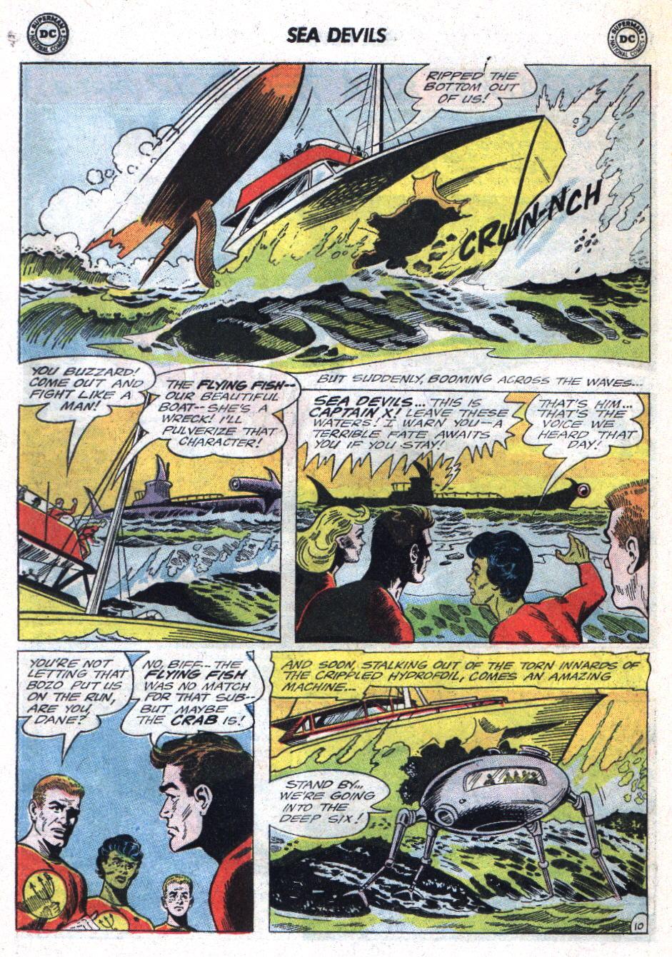Read online Sea Devils comic -  Issue #22 - 16