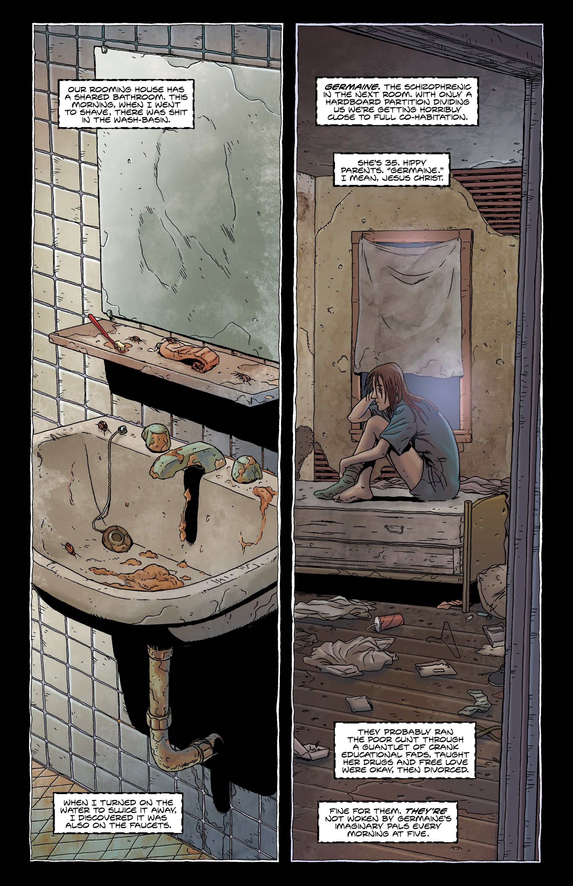 Read online Alan Moore's The Courtyard comic -  Issue # TPB - 9