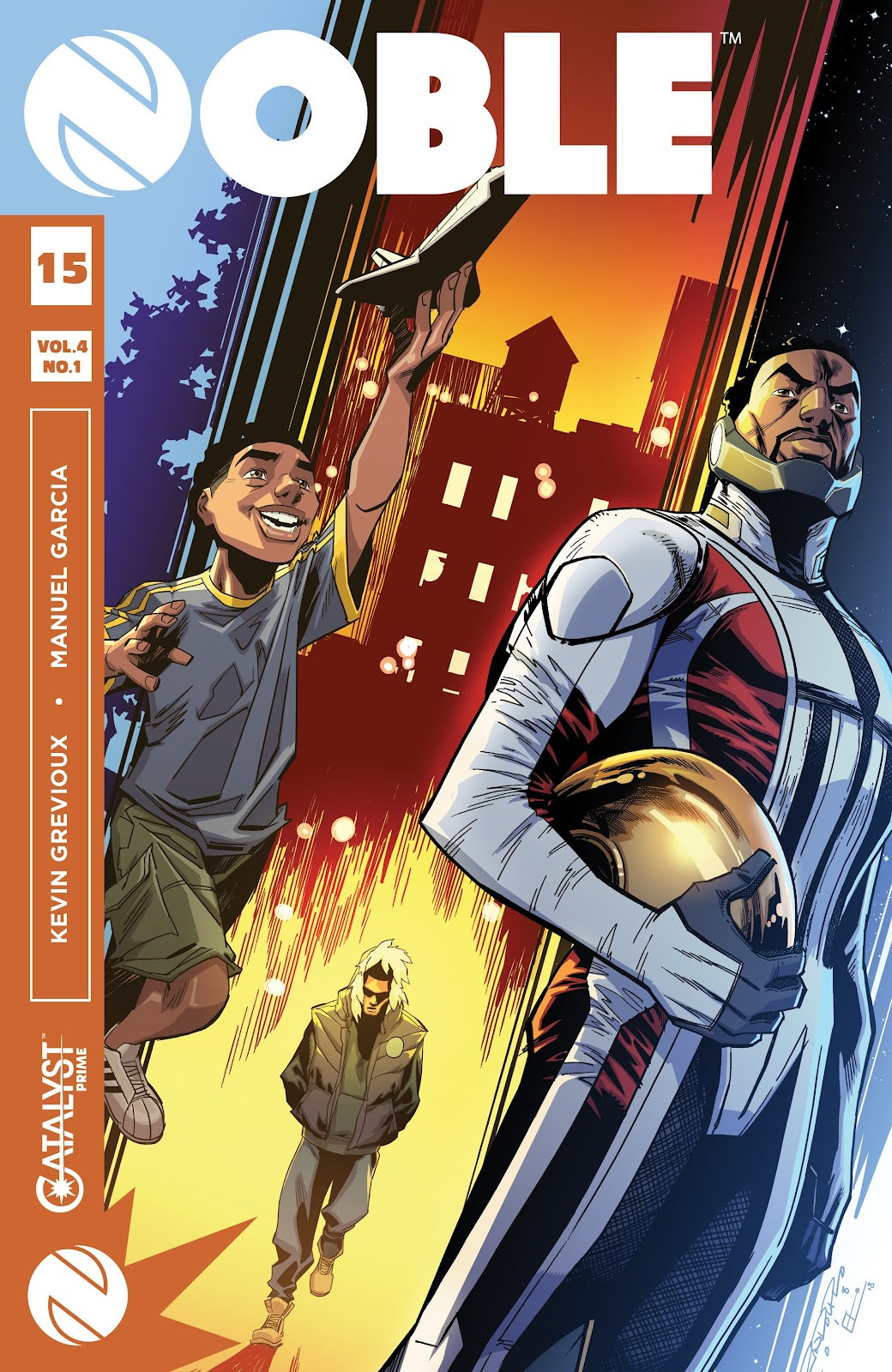 Read online Noble comic -  Issue #15 - 1