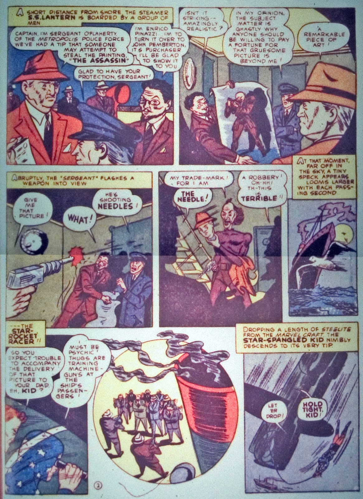 Star Spangled Comics (1941) issue 7 - Page 55