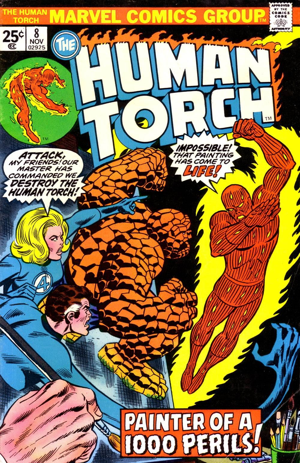 The Human Torch (1974) issue 8 - Page 1