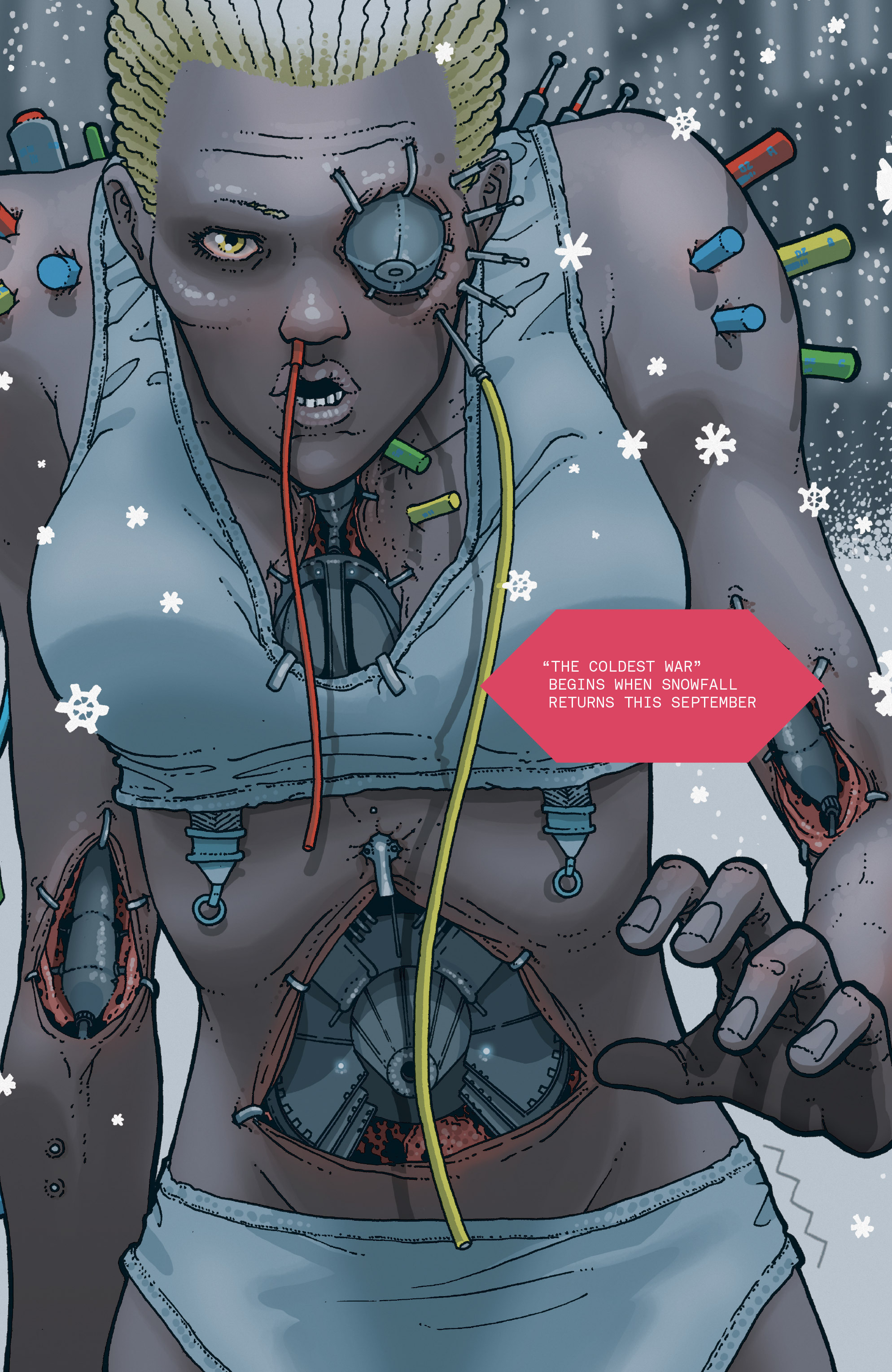 Read online Snowfall comic -  Issue #5 - 30
