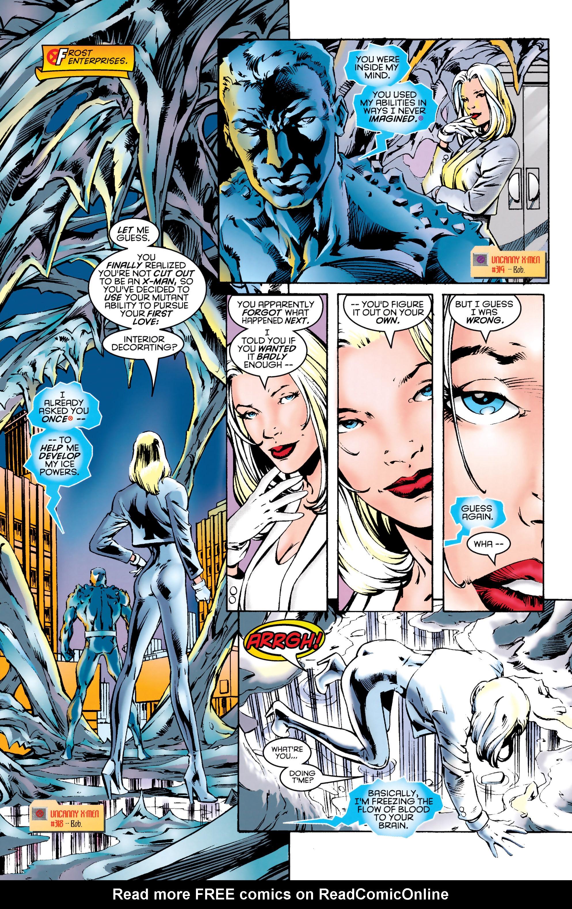 Read online Uncanny X-Men (1963) comic -  Issue #331 - 10
