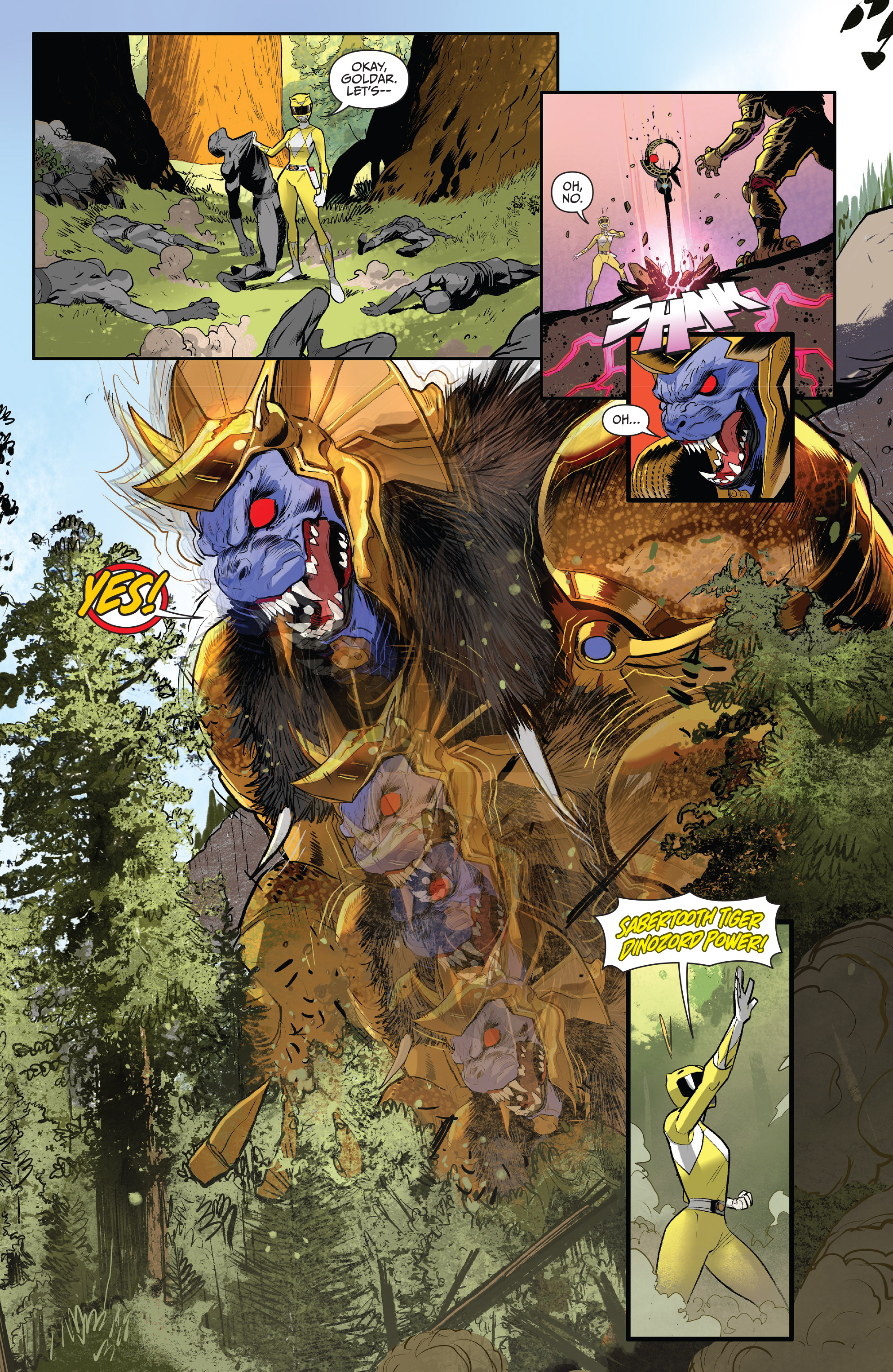 Read online Mighty Morphin Power Rangers comic -  Issue # _Annual 2017 - 16