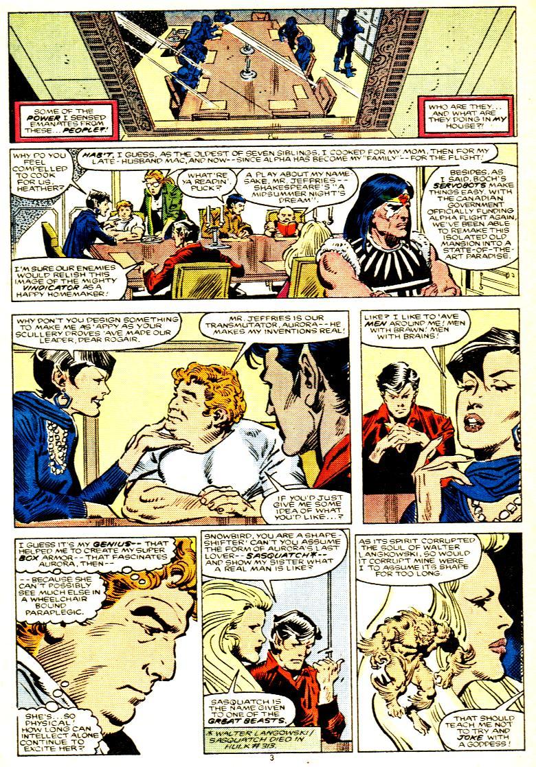 Read online Alpha Flight (1983) comic -  Issue # _Annual 1 - 4