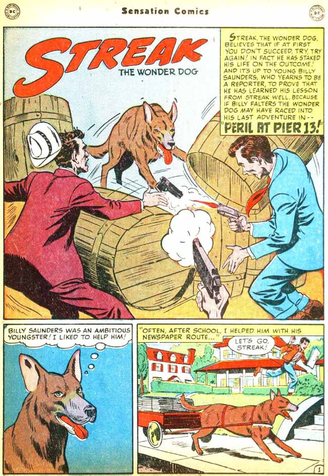 Read online Sensation (Mystery) Comics comic -  Issue #92 - 17