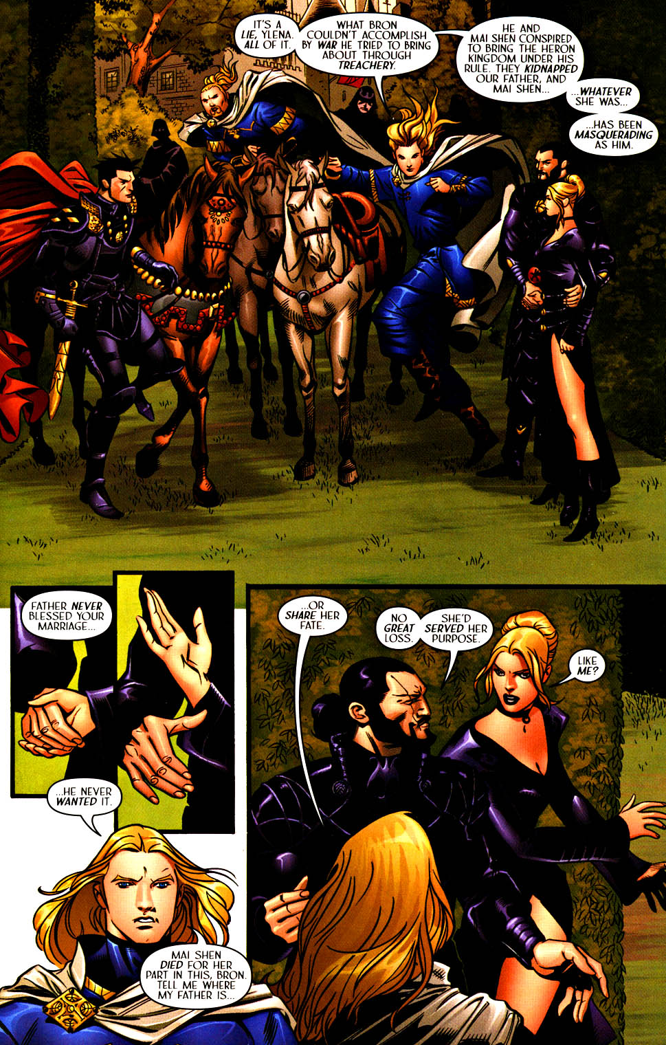 Read online Scion comic -  Issue #37 - 15