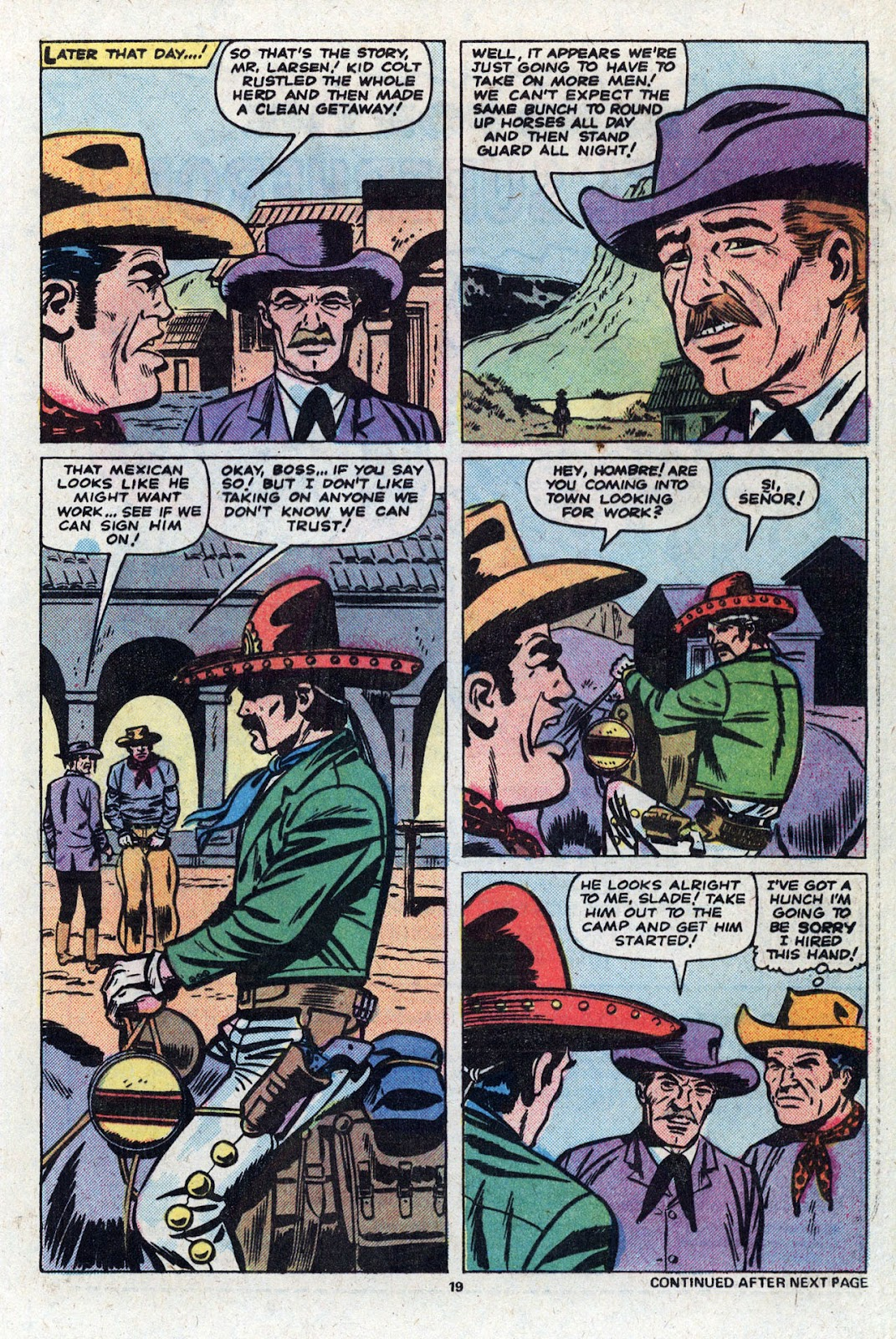 Kid Colt Outlaw issue 227 - Page 20
