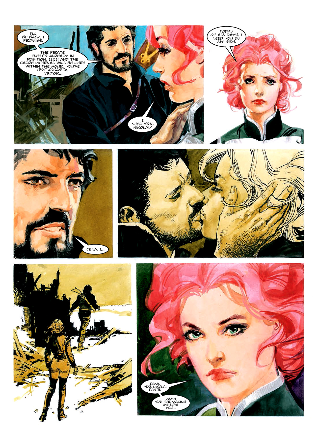 Read online Nikolai Dante comic -  Issue # TPB 10 - 48