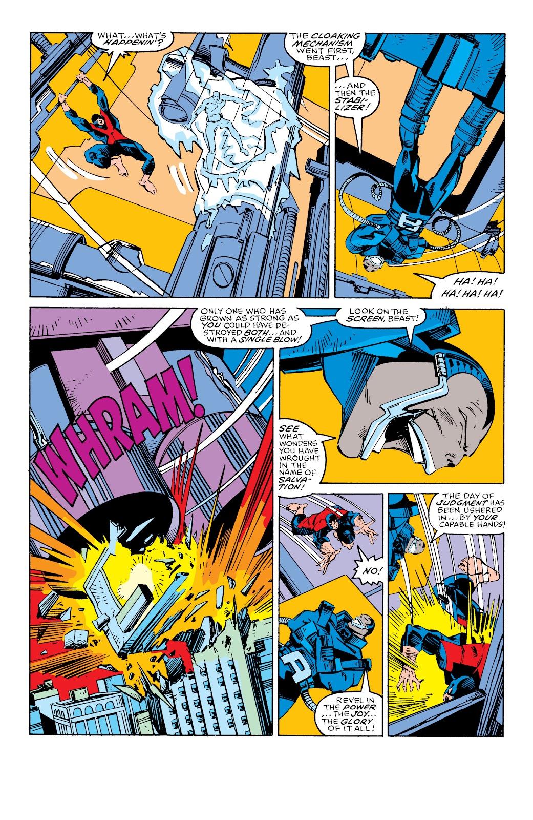Read online X-Men Milestones: Fall of the Mutants comic -  Issue # TPB (Part 3) - 22