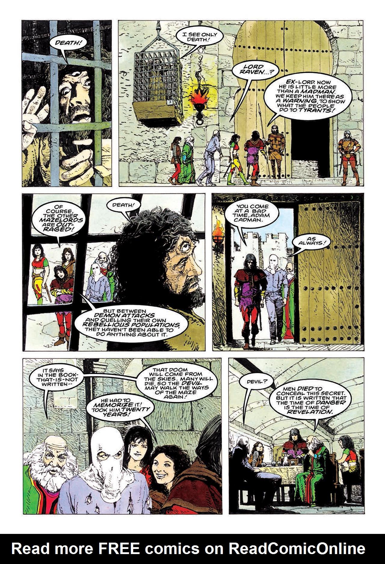 Read online Mazeworld comic -  Issue # TPB - 137