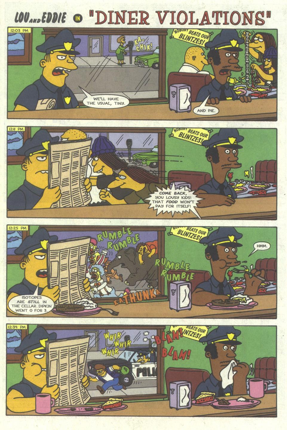 Read online Simpsons Comics comic -  Issue #26 - 25