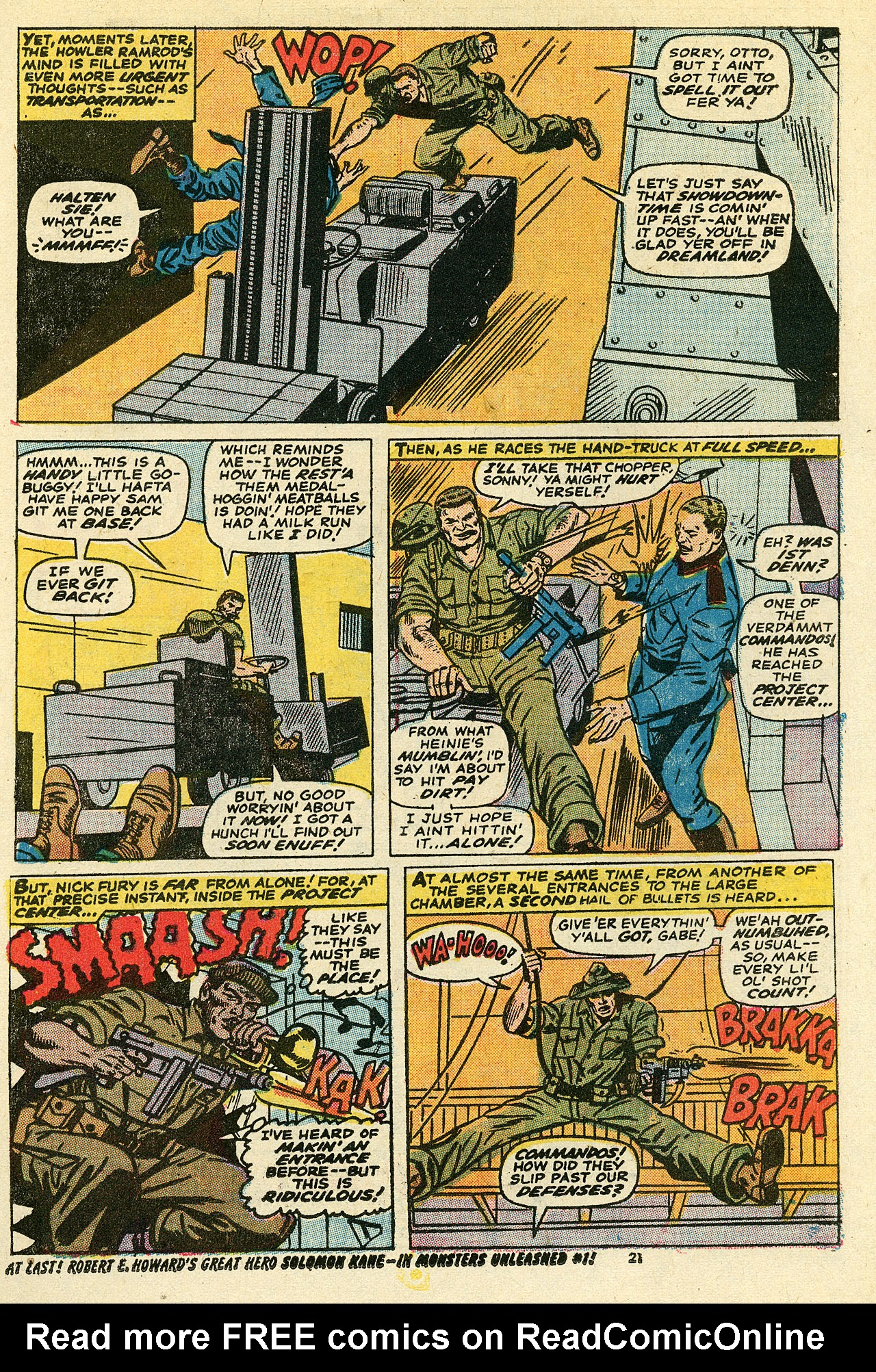 Read online Sgt. Fury comic -  Issue #111 - 23