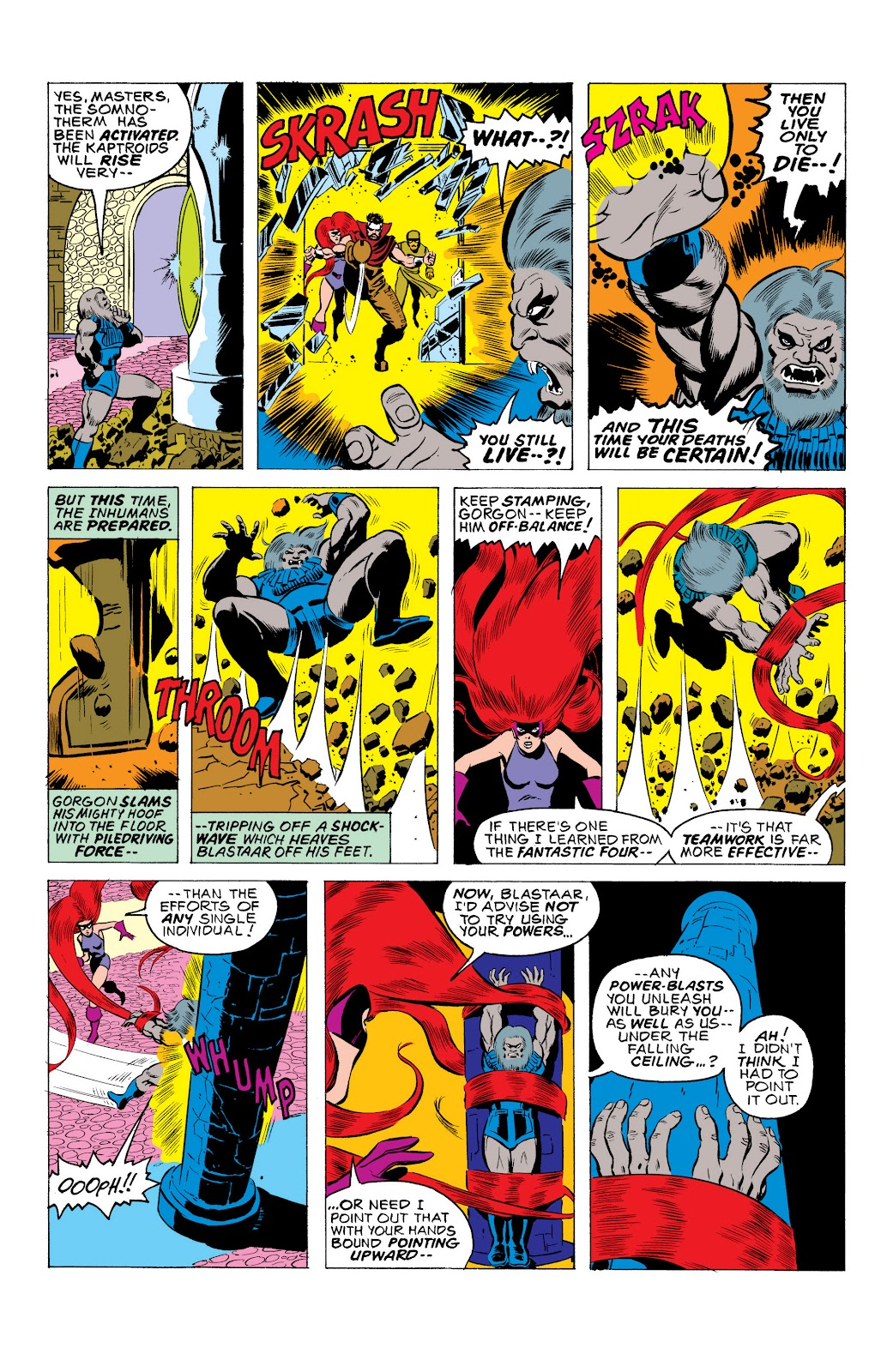 Read online Marvel Masterworks: The Inhumans comic -  Issue # TPB 2 (Part 1) - 34