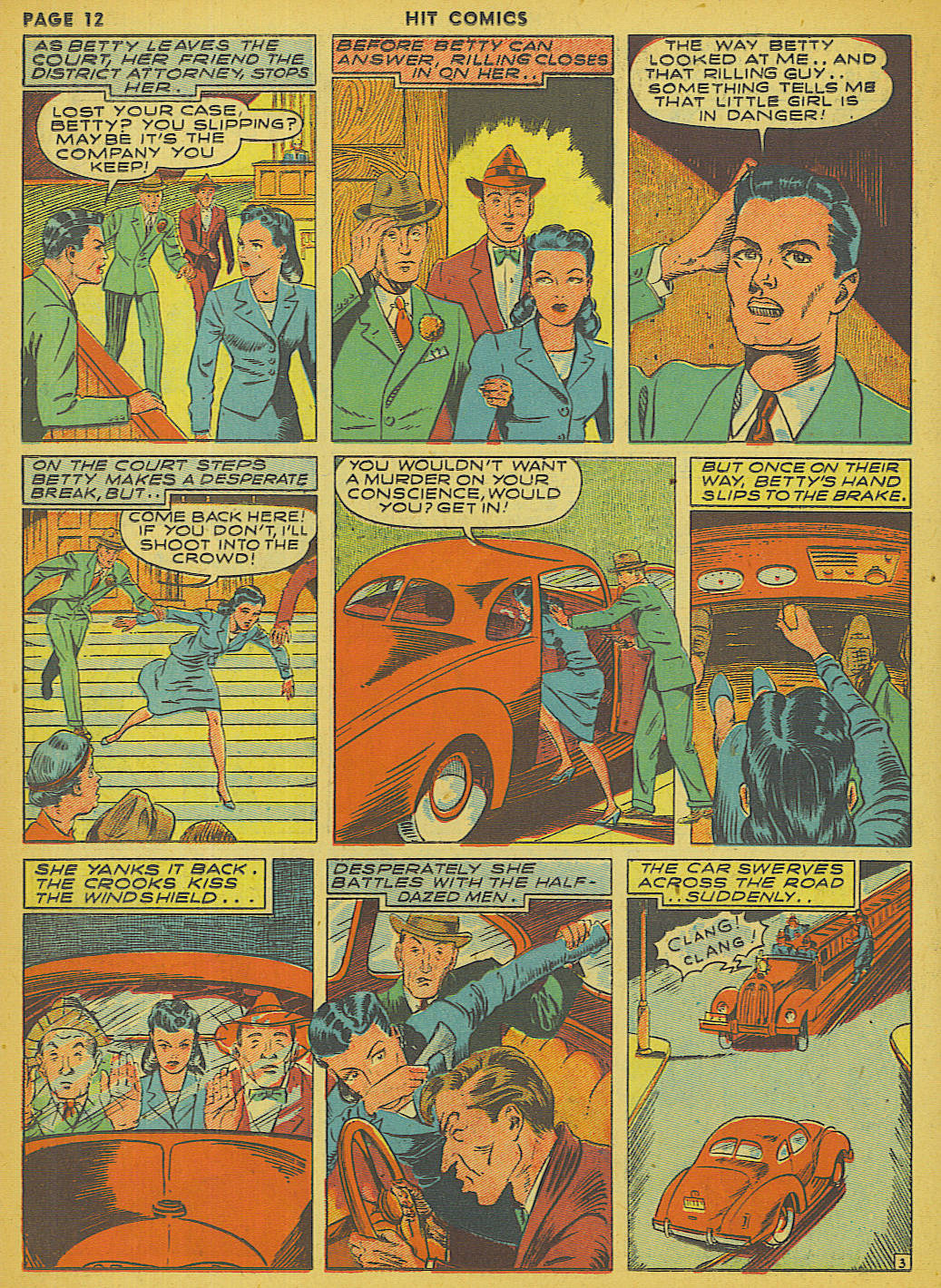 Read online Hit Comics comic -  Issue #13 - 14