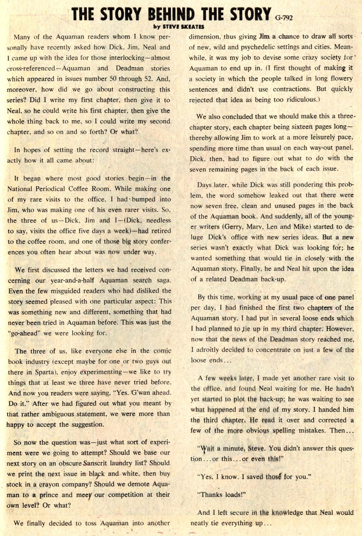 Read online Aquaman (1962) comic -  Issue #52 - 29