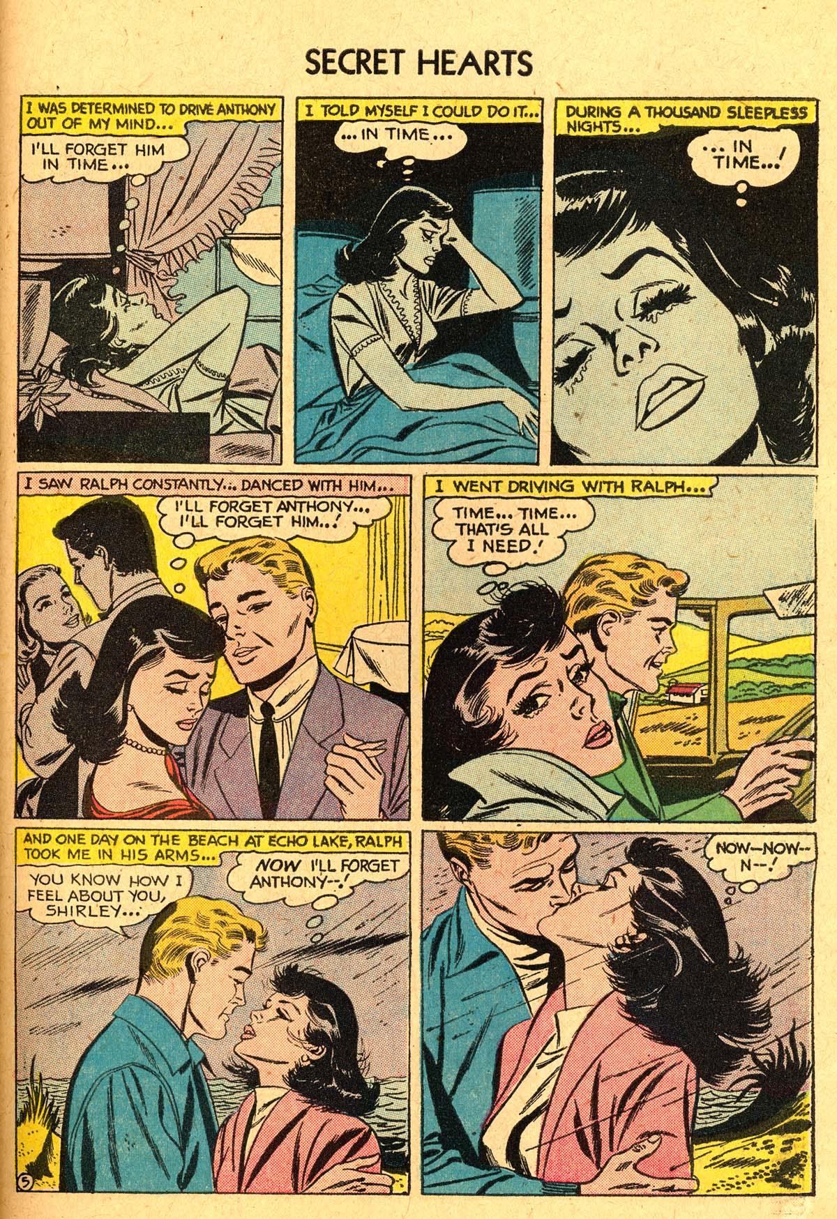 Read online Secret Hearts comic -  Issue #40 - 31