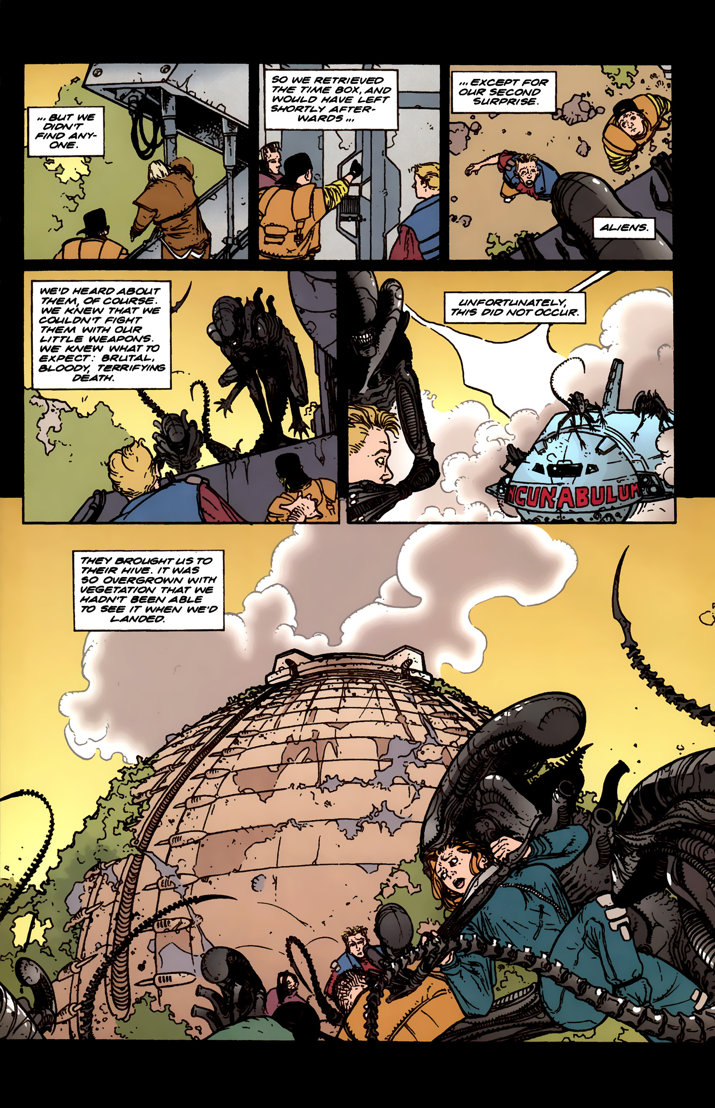 Read online Aliens: Labyrinth comic -  Issue #3 - 8