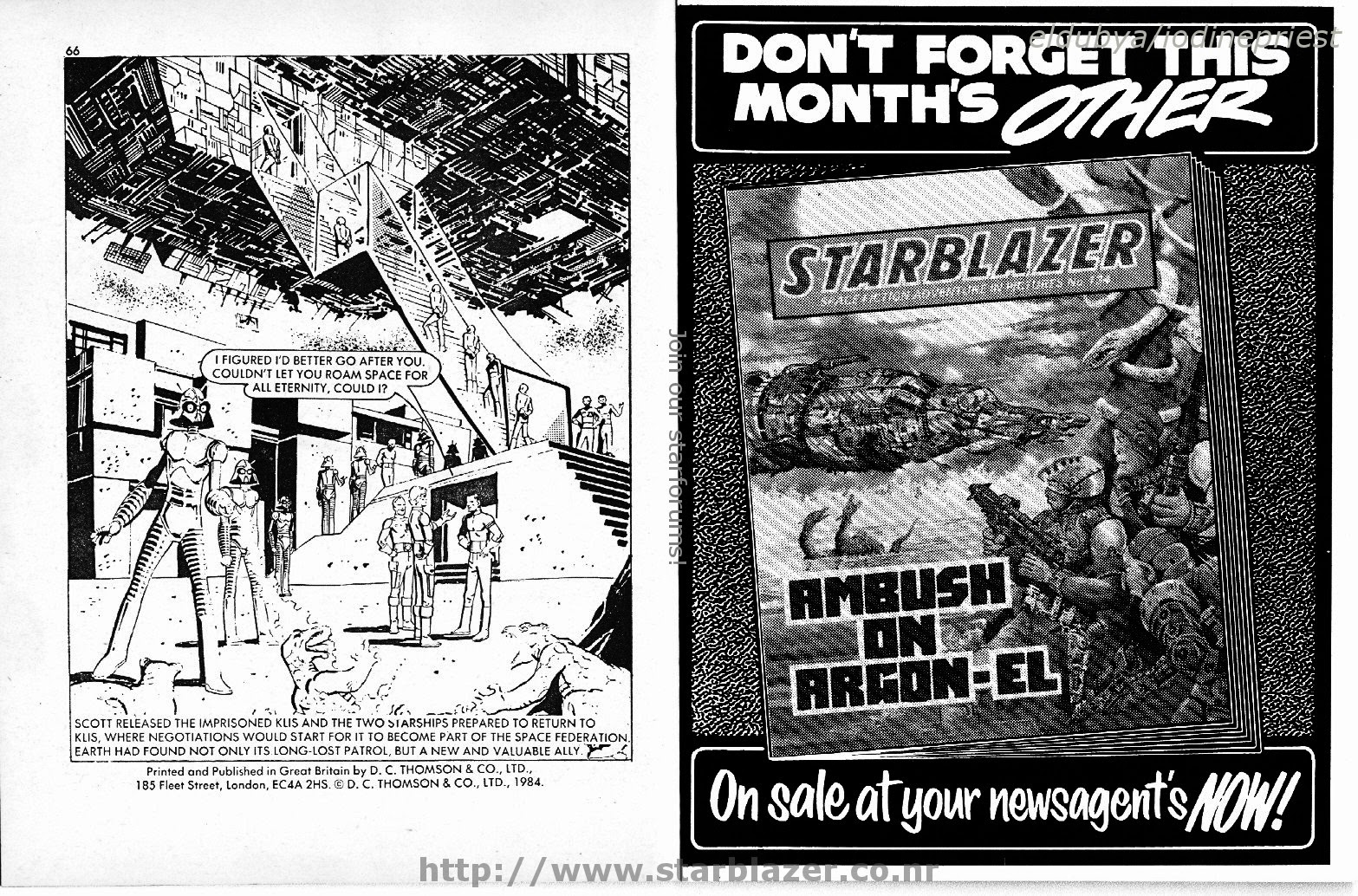 Starblazer issue 135 - Page 35