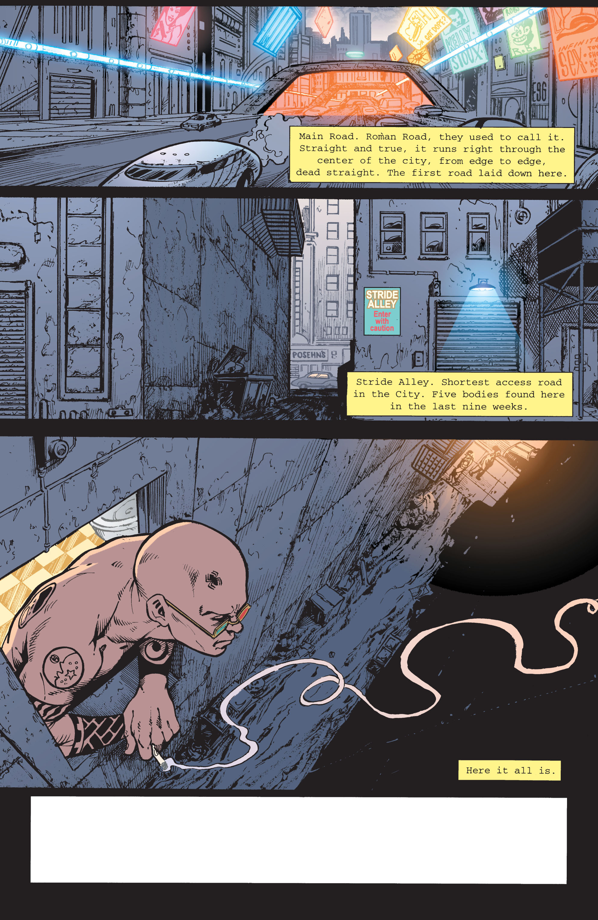Read online Transmetropolitan comic -  Issue #42 - 2