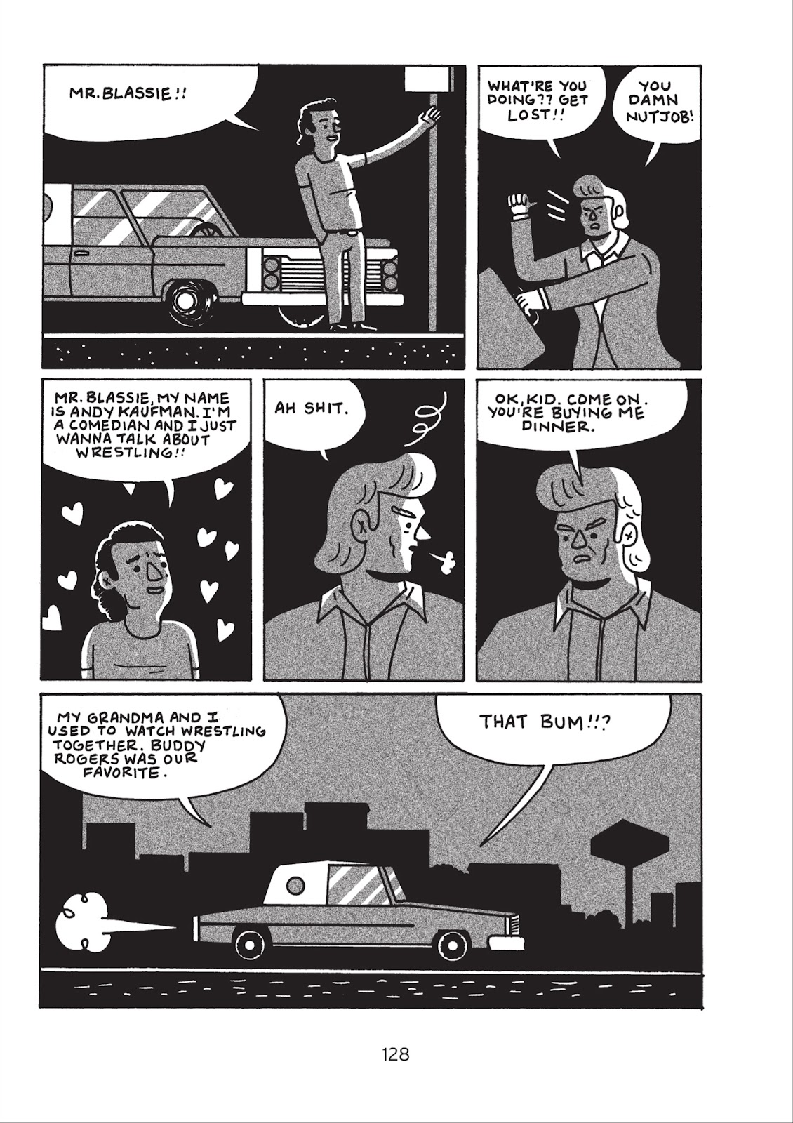 Read online Is This Guy For Real?: The Unbelievable Andy Kaufman comic -  Issue # TPB (Part 2) - 34