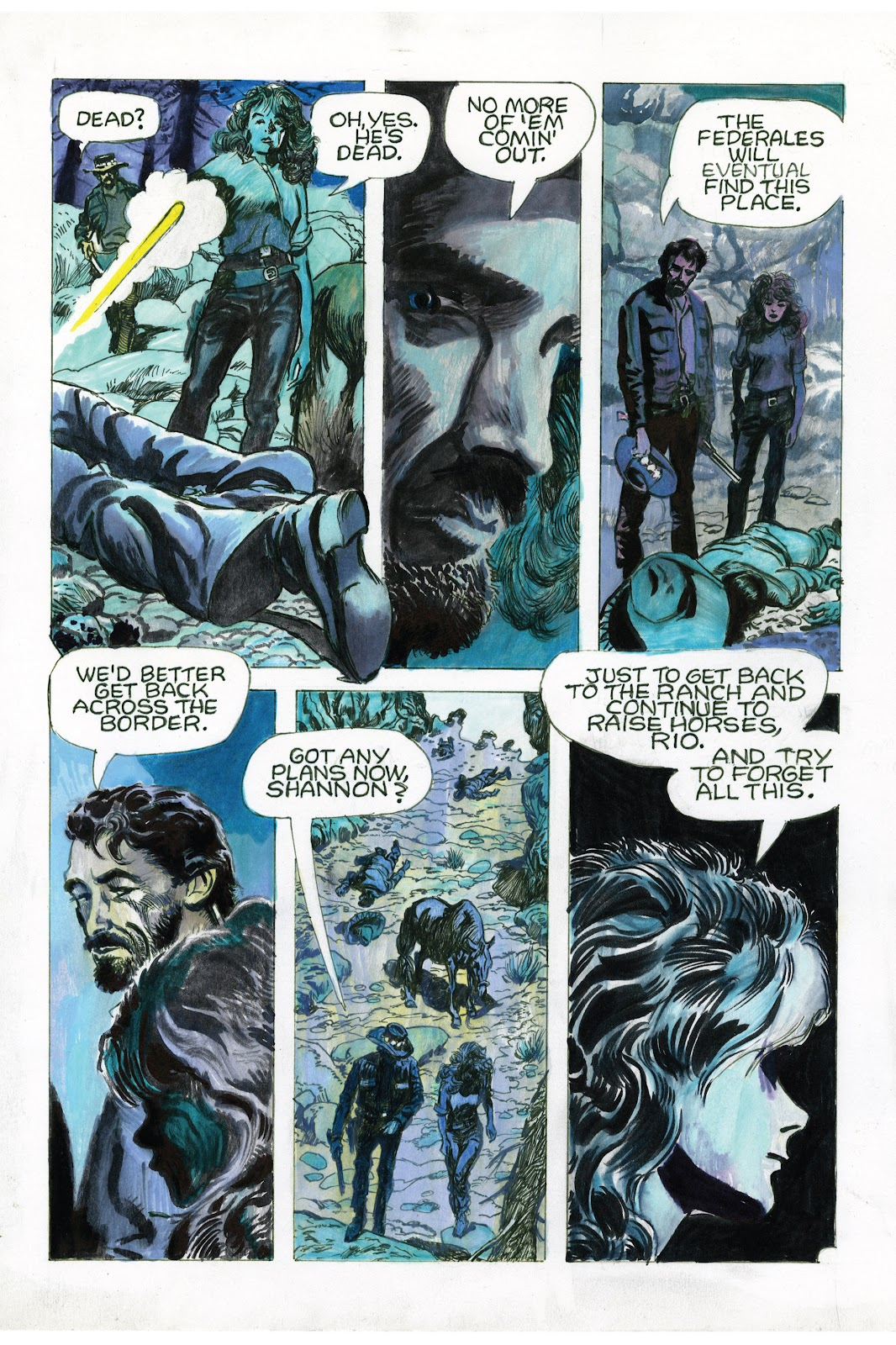 Read online Doug Wildey's Rio: The Complete Saga comic -  Issue # TPB (Part 3) - 70