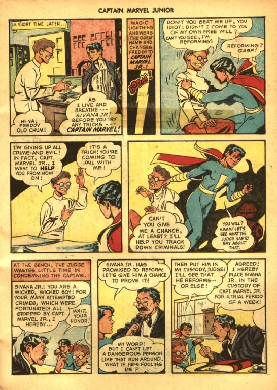 Captain Marvel, Jr. issue 39 - Page 3