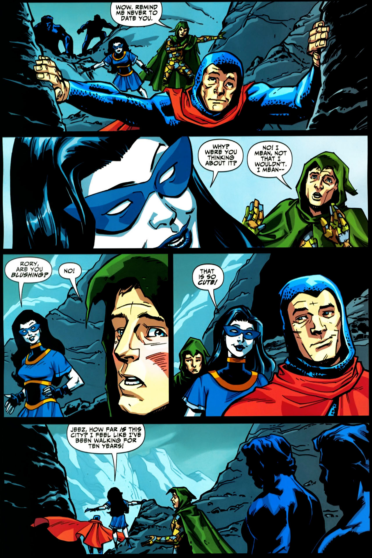 Read online Shadowpact comic -  Issue #20 - 13