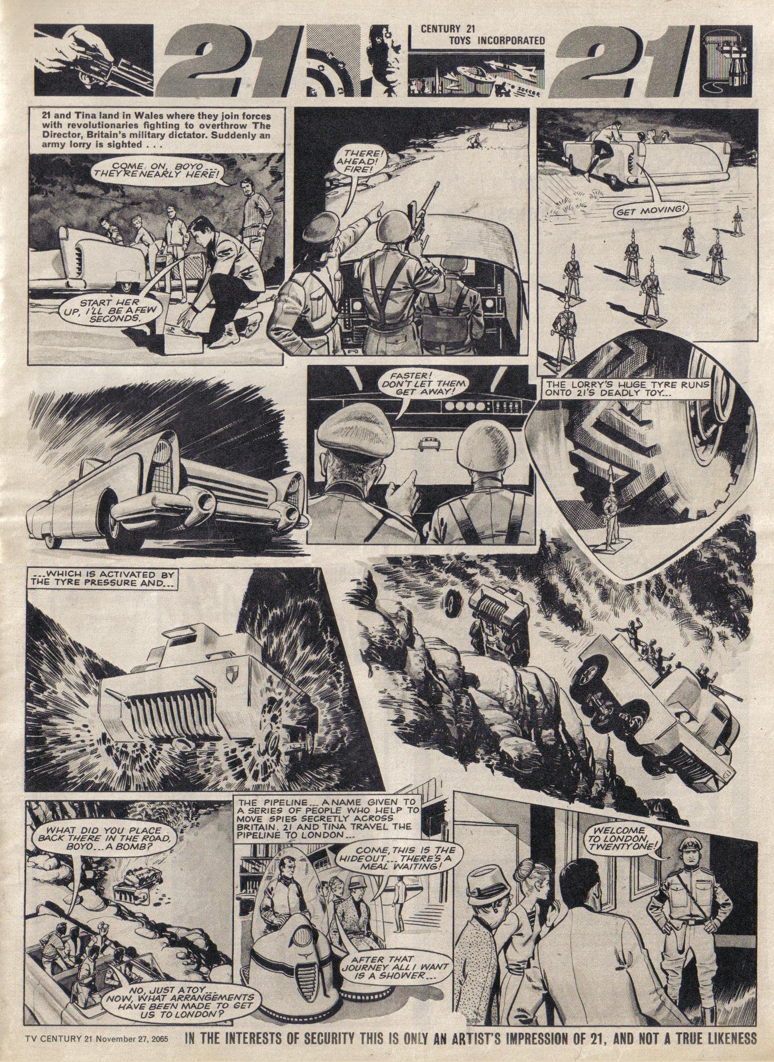 Read online TV Century 21 (TV 21) comic -  Issue #45 - 7