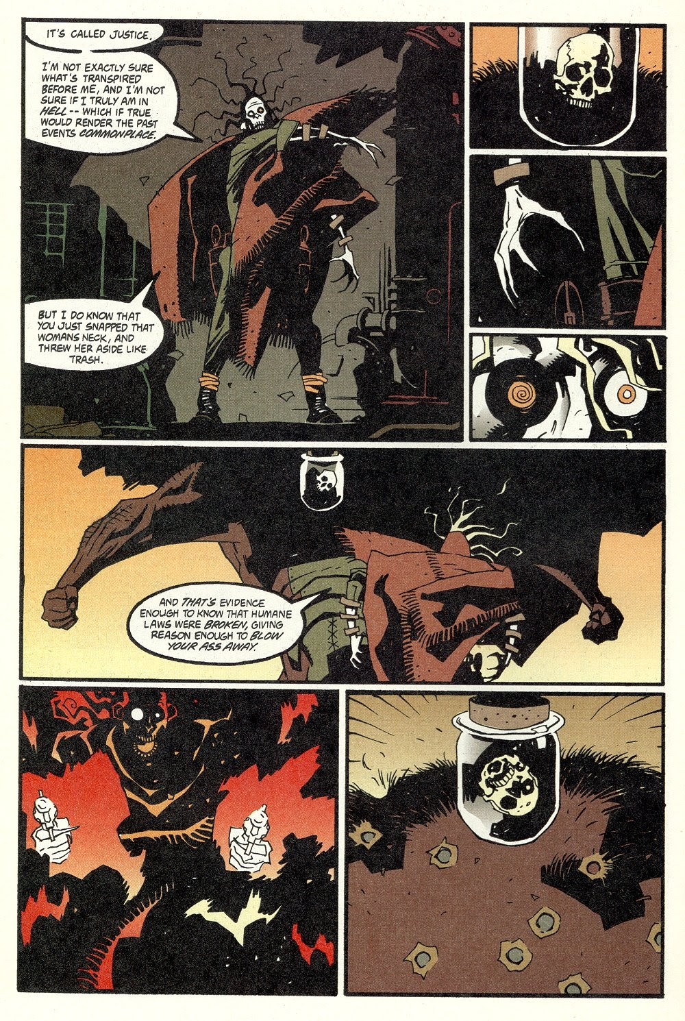 Read online Ted McKeever's Metropol comic -  Issue #11 - 28
