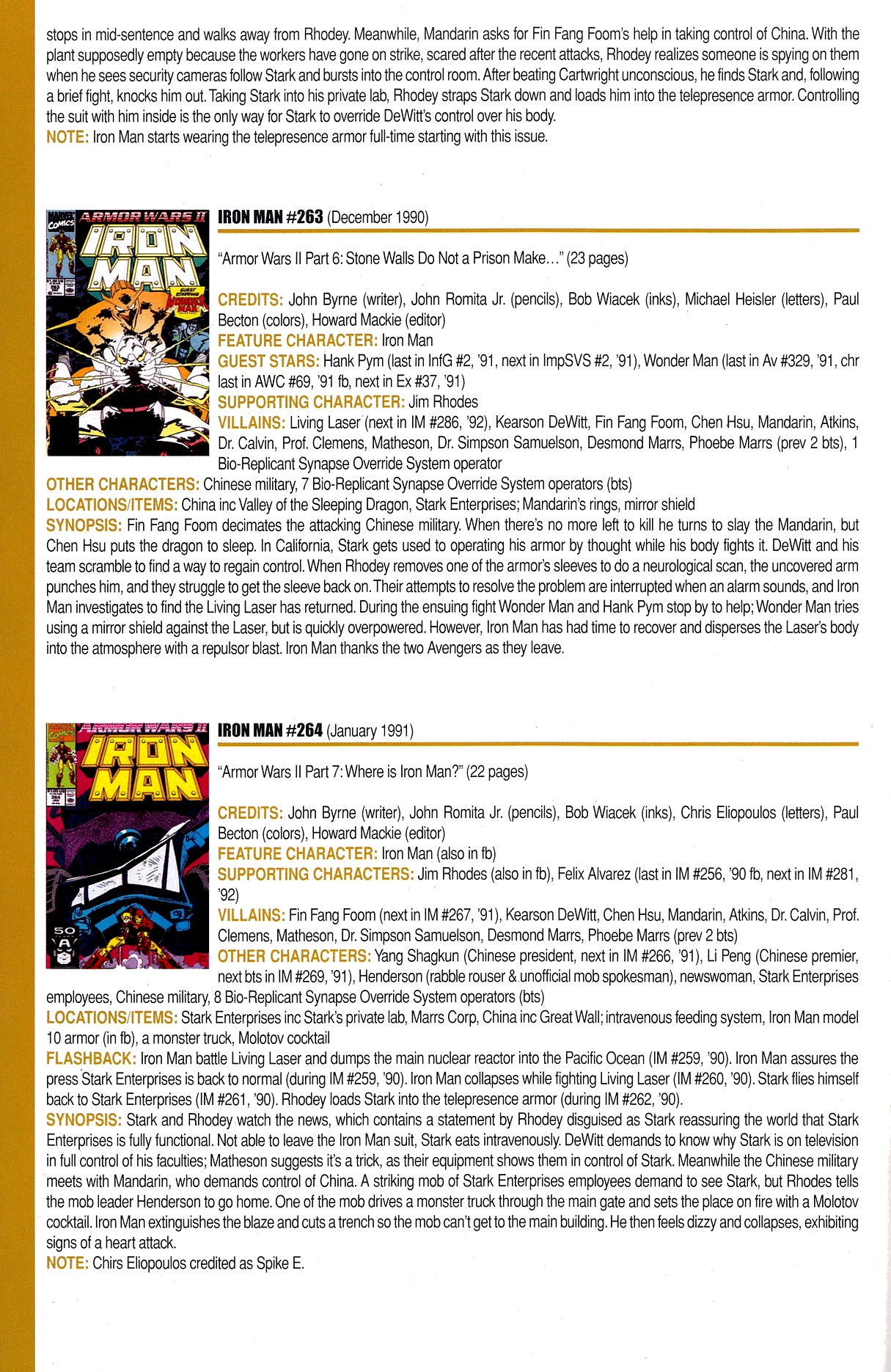 Read online Official Index to the Marvel Universe comic -  Issue #8 - 26