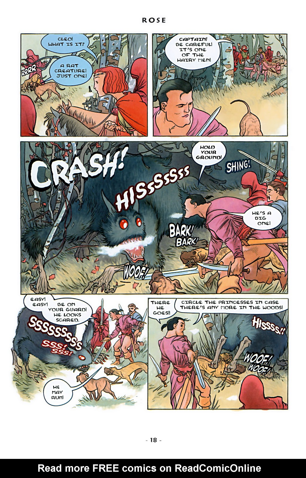 Read online Rose (2000) comic -  Issue # TPB - 24