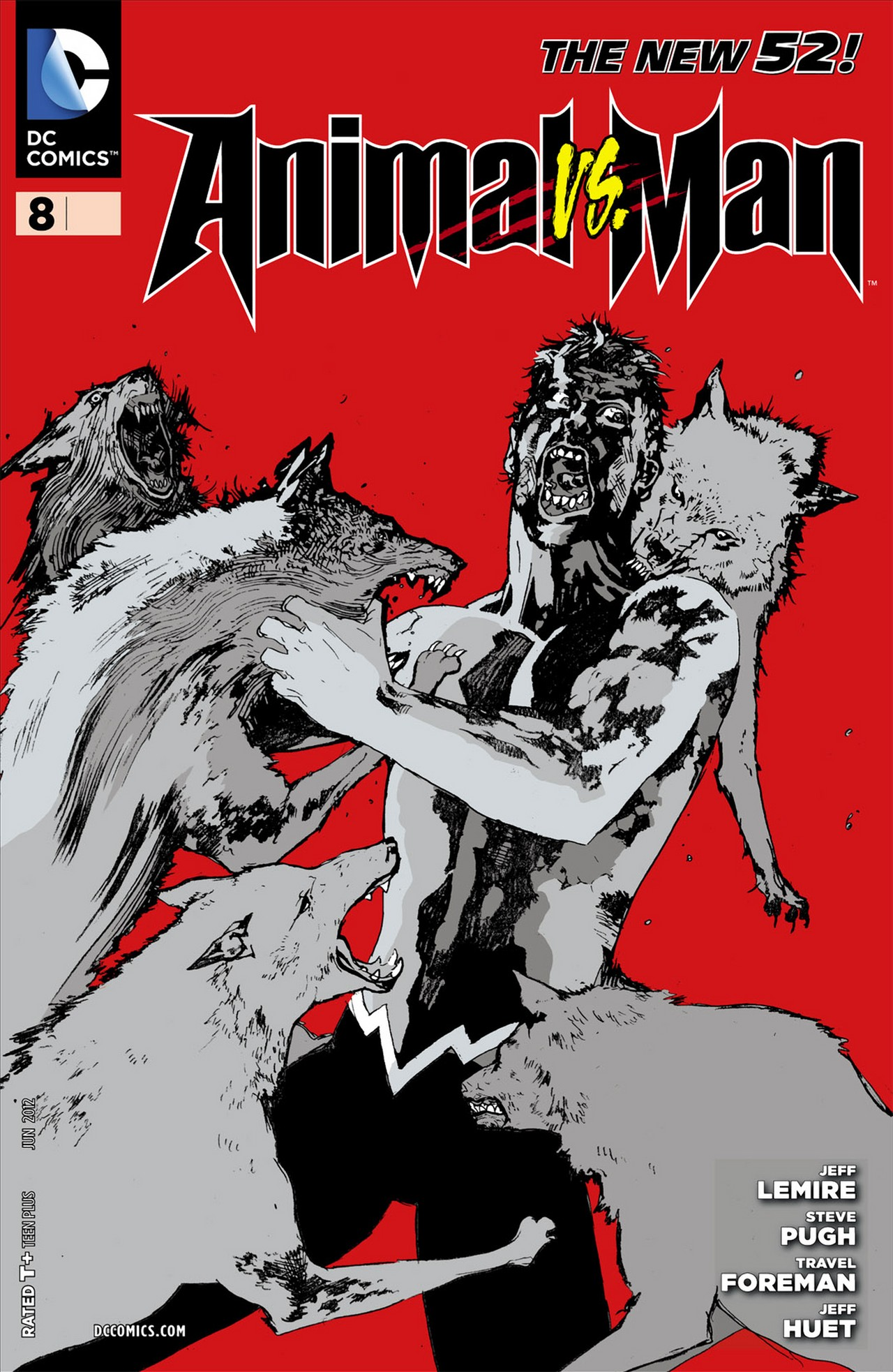 Read online Animal Man (2011) comic -  Issue #8 - 1