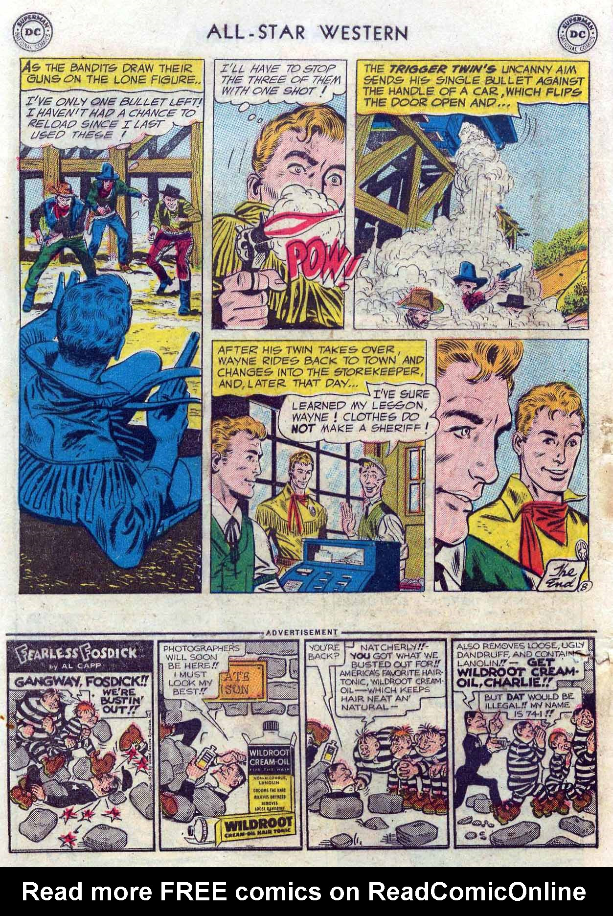 Read online All-Star Western (1951) comic -  Issue #85 - 10