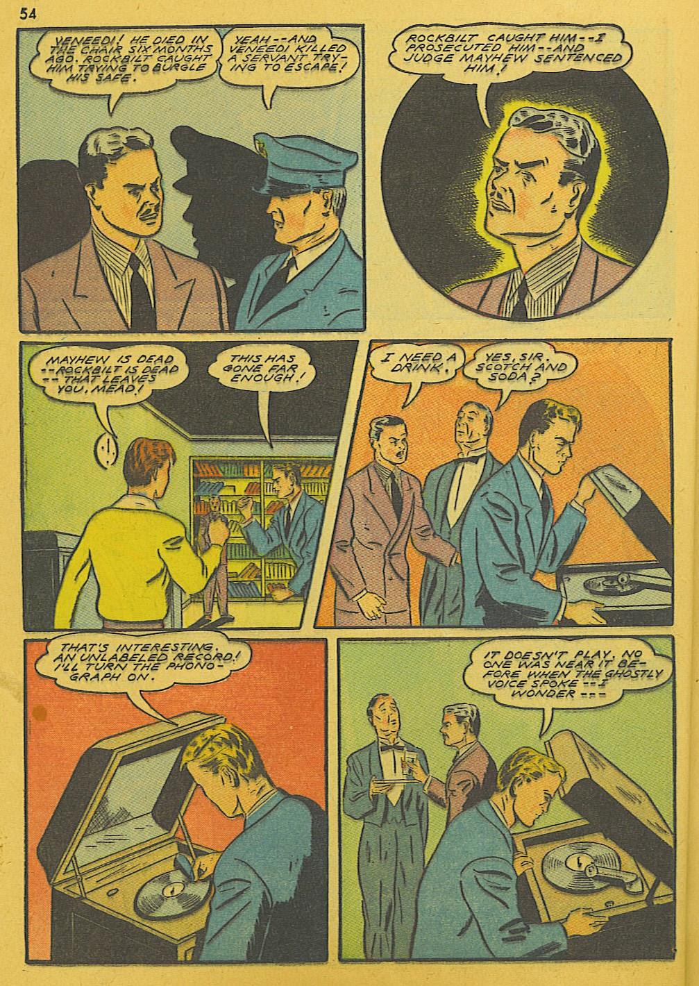 Read online Super-Magician Comics comic -  Issue #10 - 54