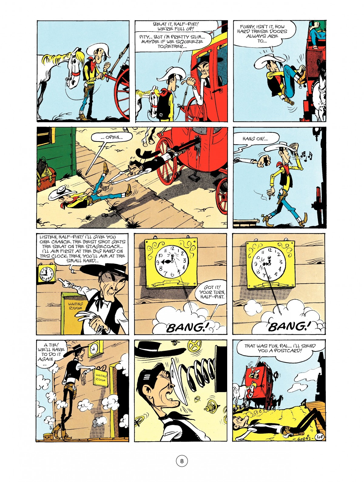 Read online A Lucky Luke Adventure comic -  Issue #40 - 8