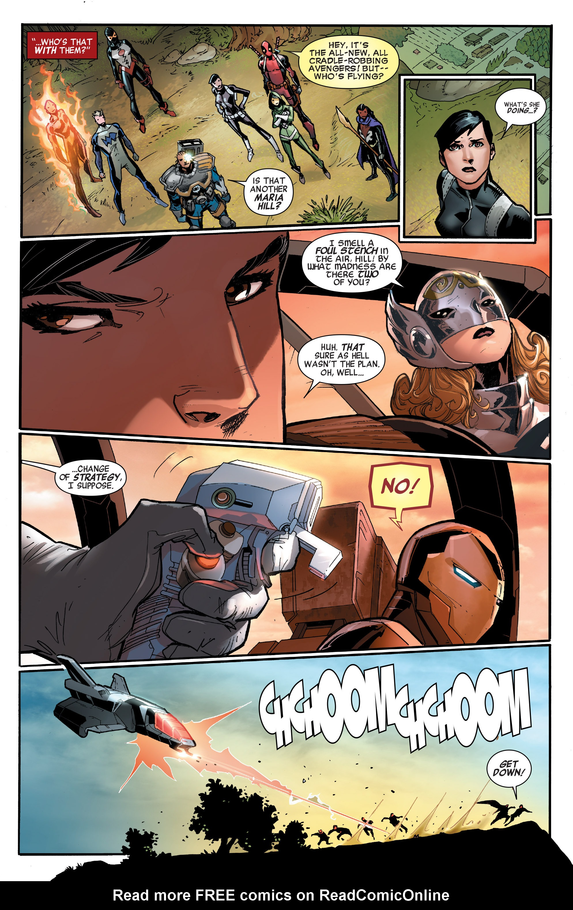 Read online All-New, All-Different Avengers comic -  Issue #7 - 14