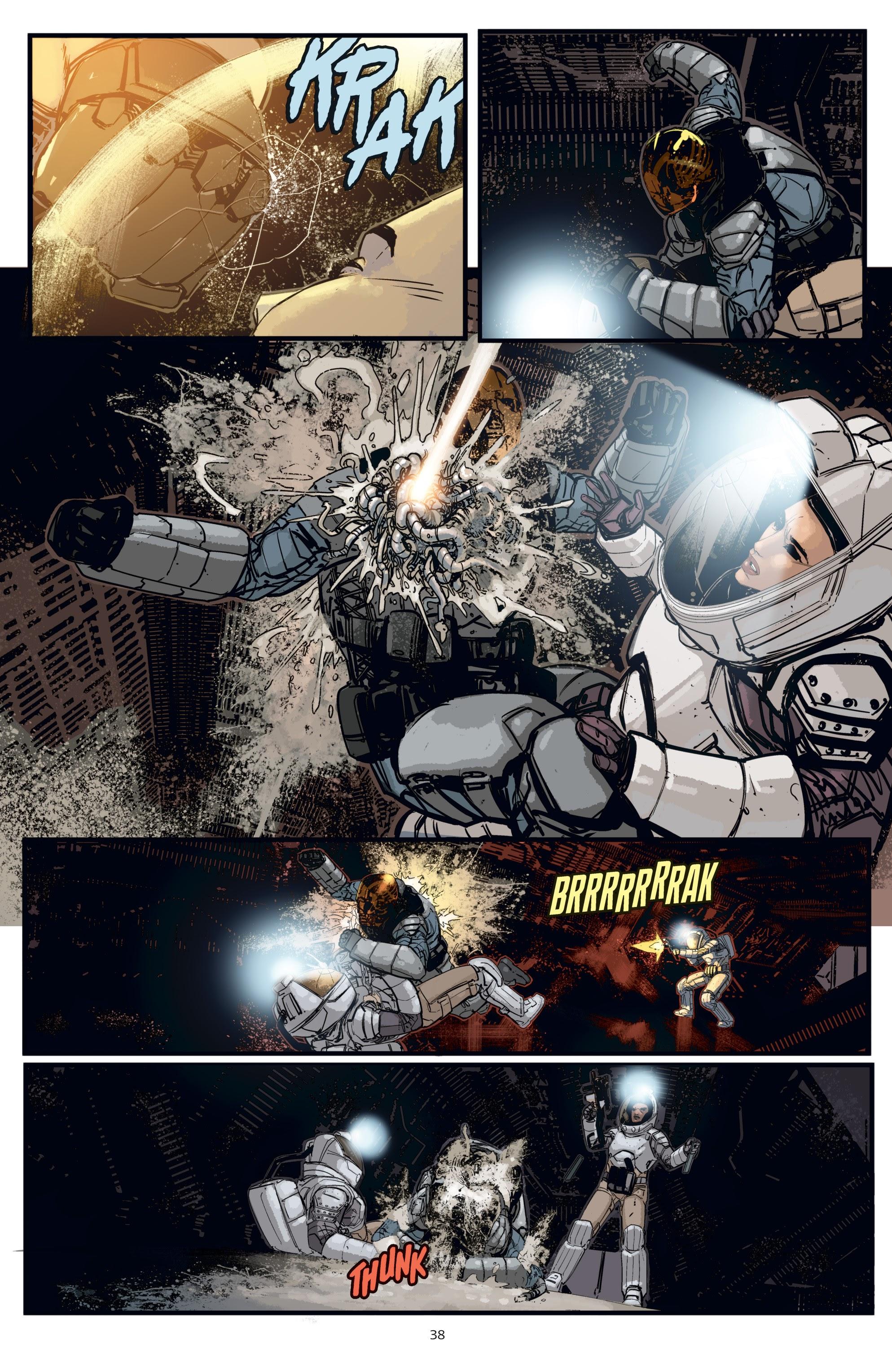 Read online Aliens: Resistance comic -  Issue # _TPB - 38