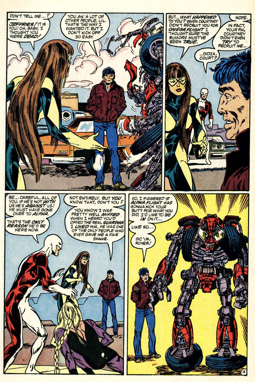 Read online Alpha Flight (1983) comic -  Issue #28 - 5