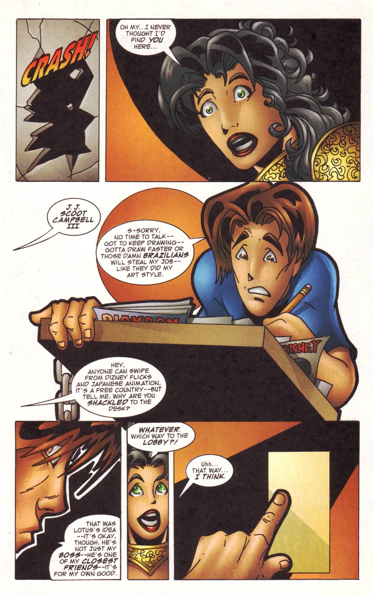 Read online Avengeblade comic -  Issue #2 - 12