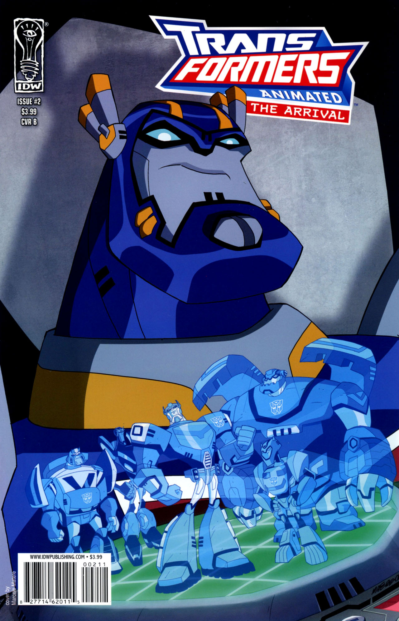 Read online Transformers Animated: The Arrival comic -  Issue #2 - 2