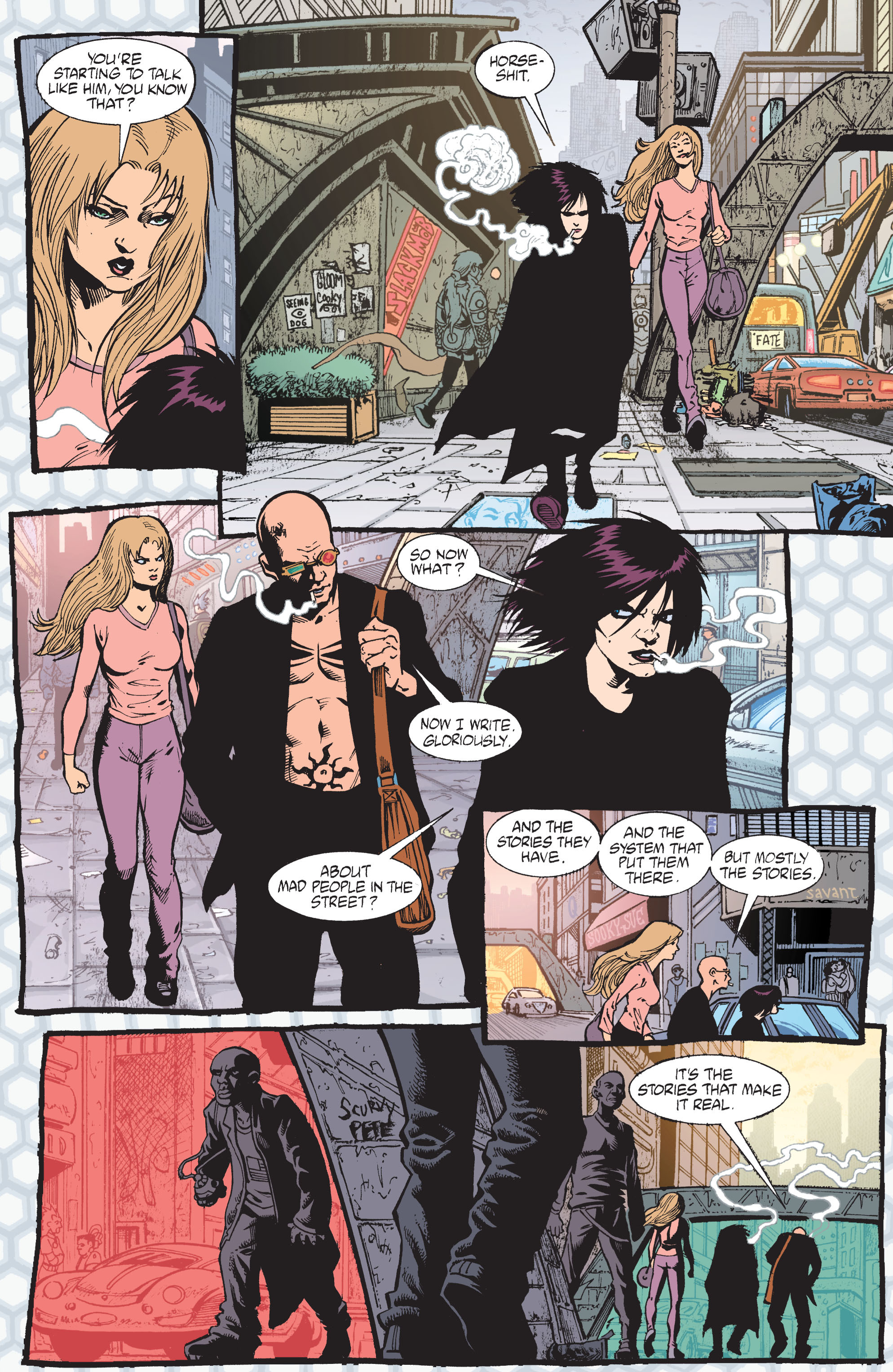 Read online Transmetropolitan comic -  Issue #41 - 20