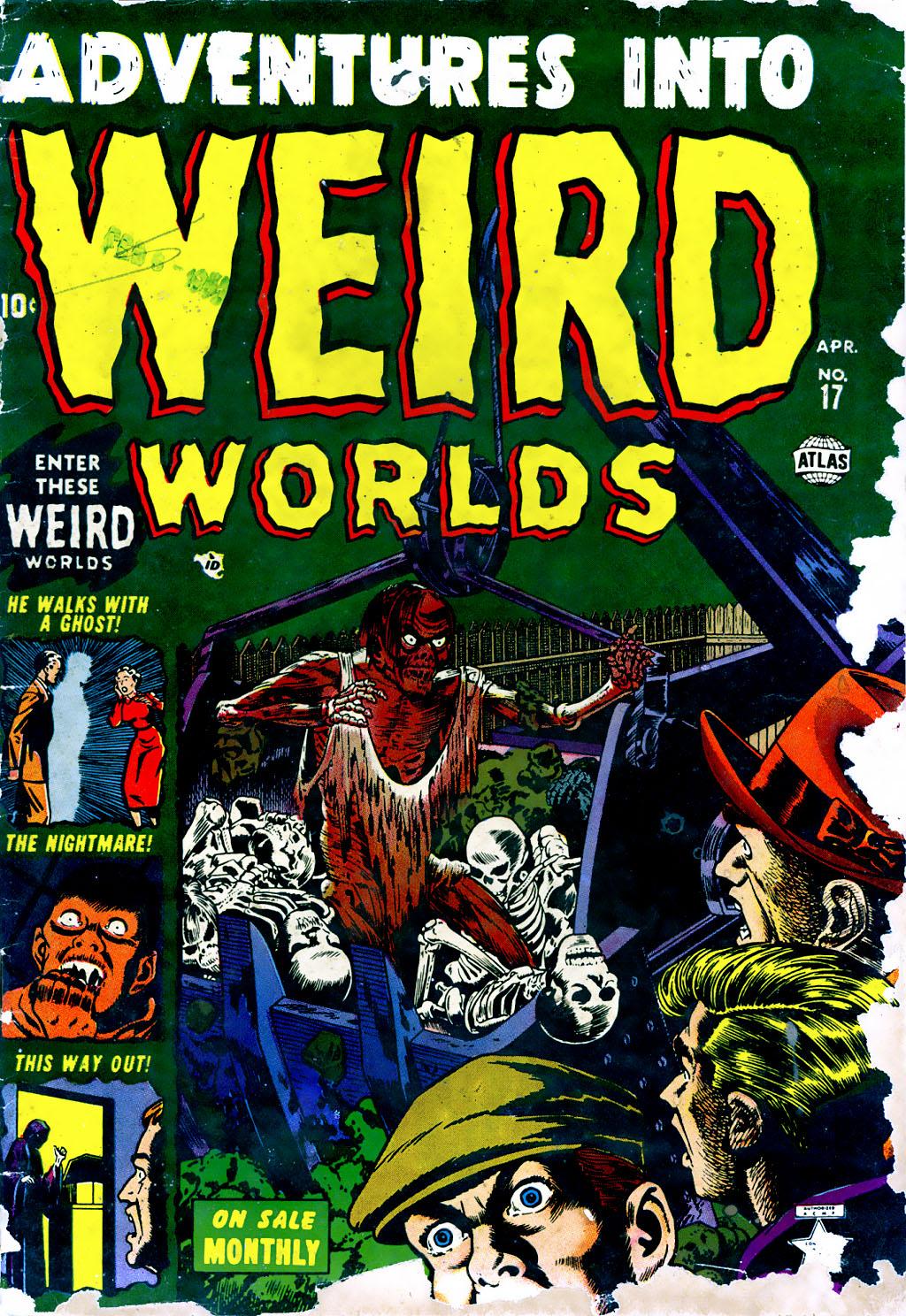 Read online Adventures into Weird Worlds comic -  Issue #17 - 1