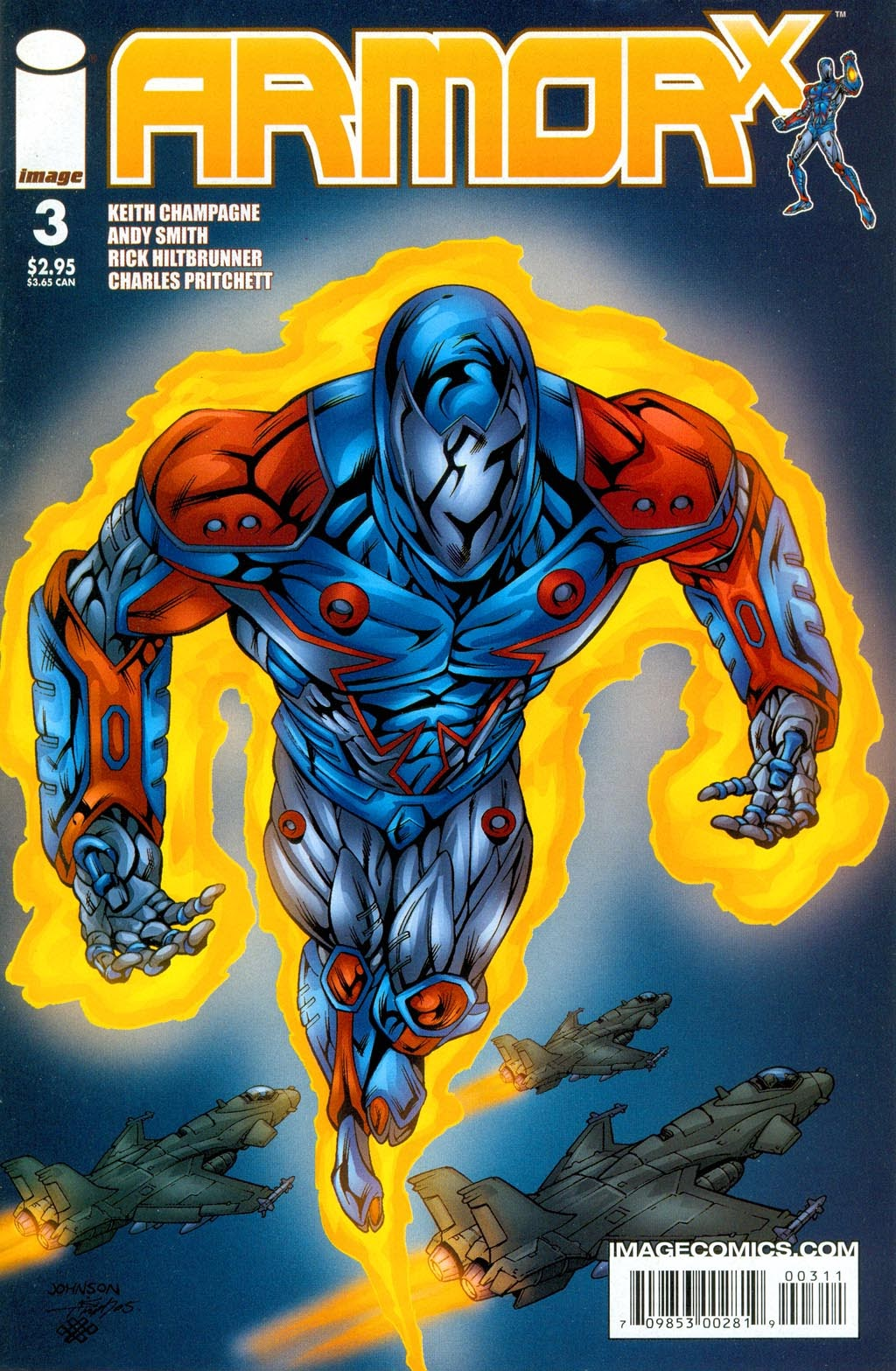 Read online ArmorX comic -  Issue #3 - 26