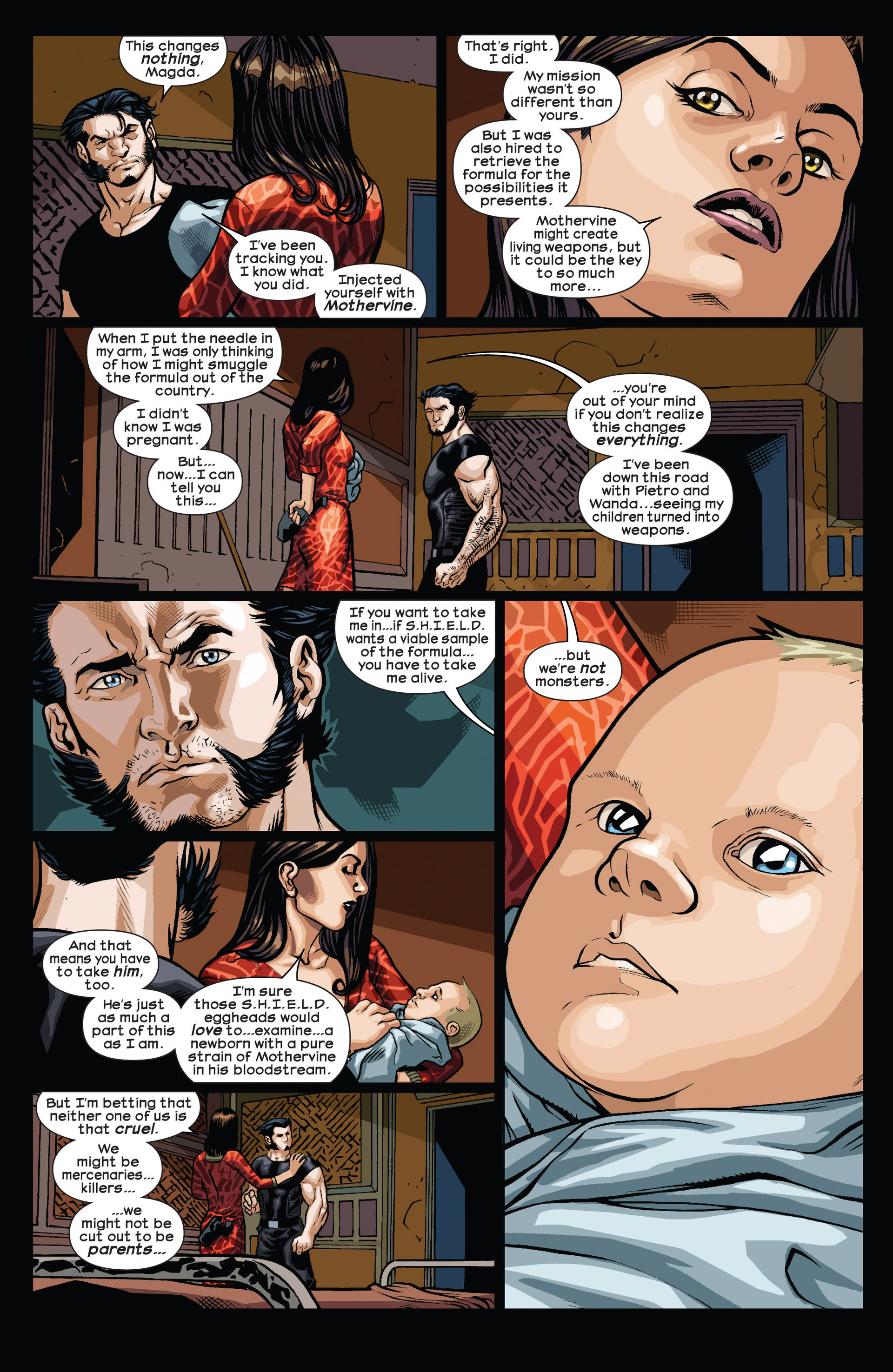 Read online Ultimate Comics Wolverine comic -  Issue #4 - 5