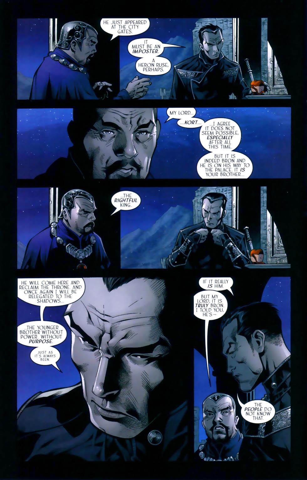 Read online Scion comic -  Issue #31 - 9
