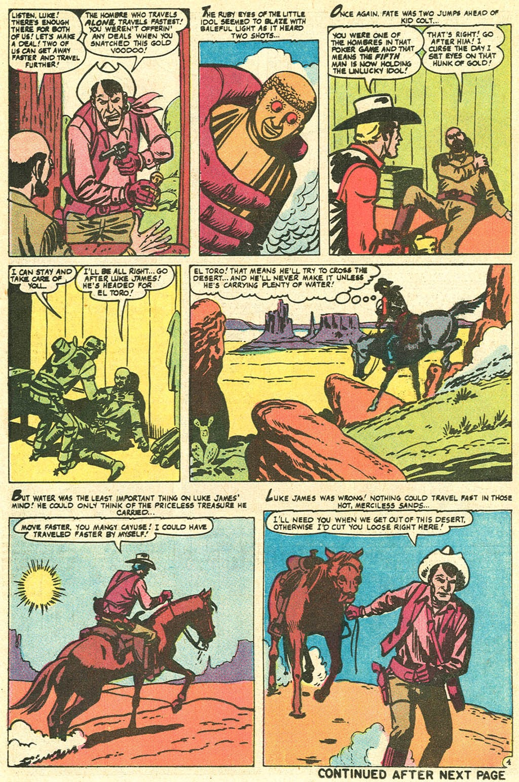 Kid Colt Outlaw issue 141 - Page 14
