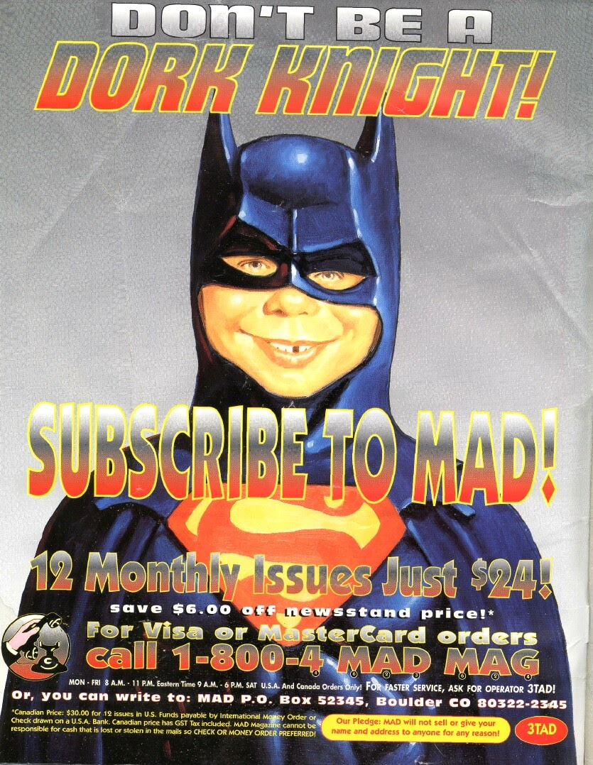 Mad Batman Spectacular issue Full - Page 2