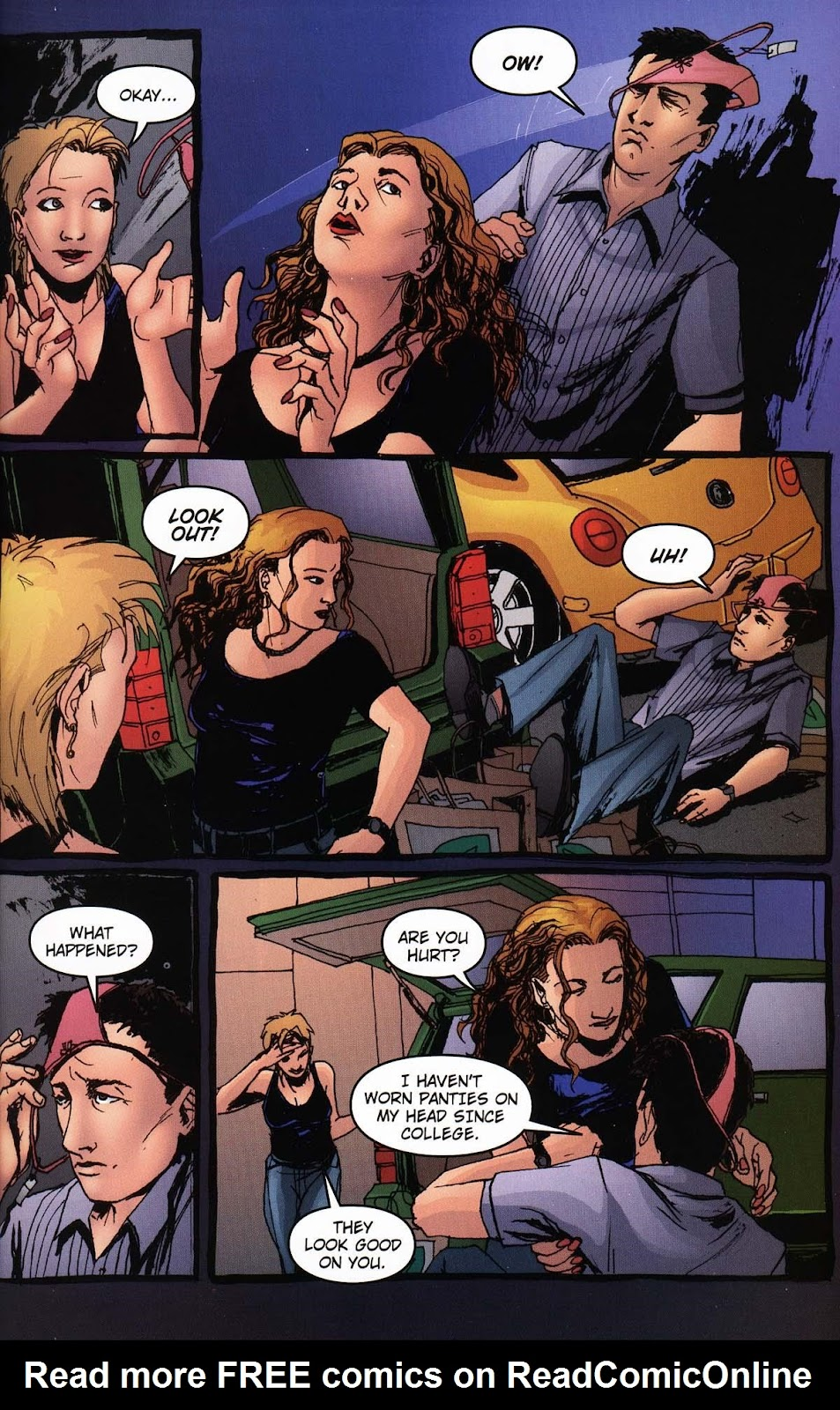 Read online Vampire the Masquerade comic -  Issue # Ventrue - 5