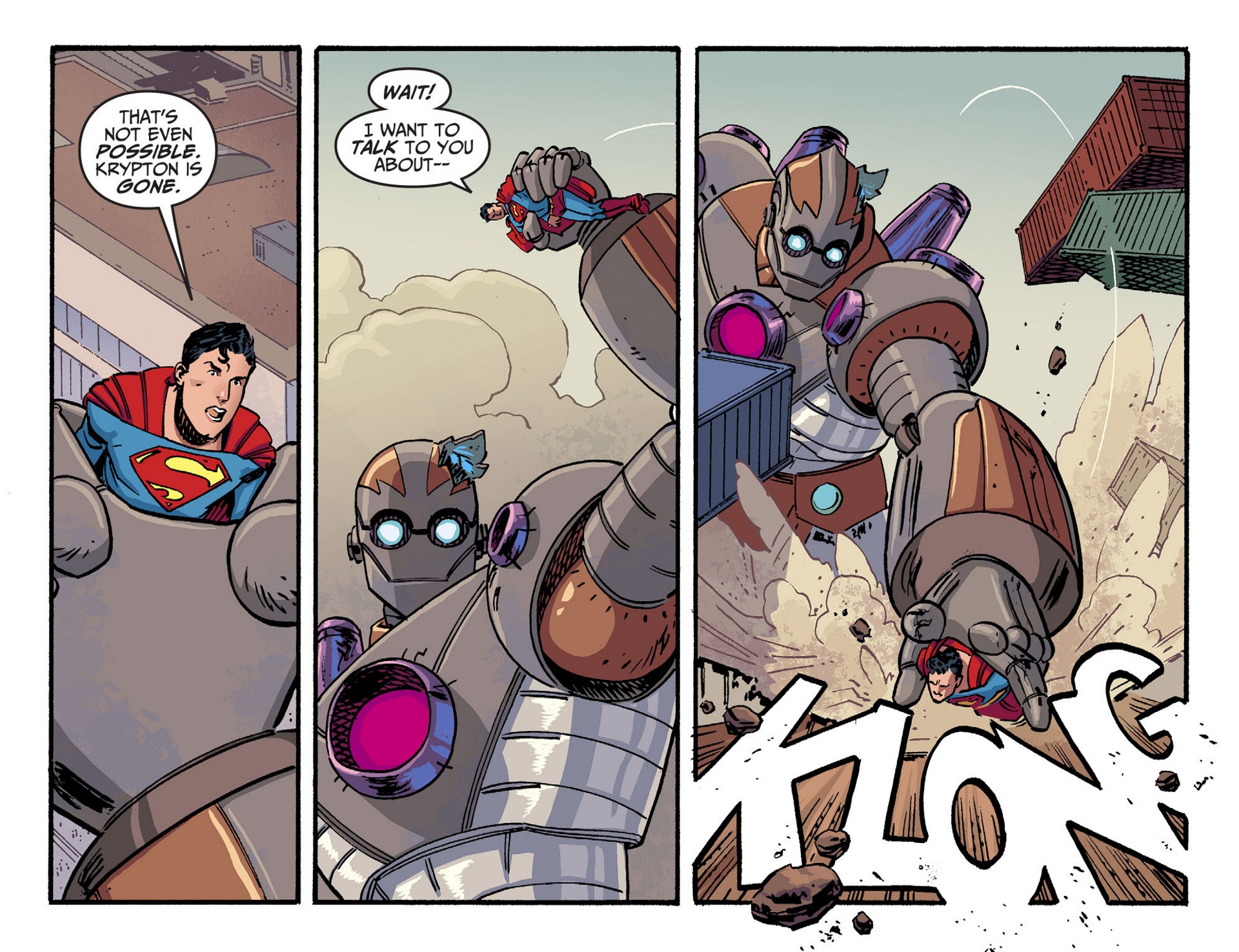 Read online Adventures of Superman [I] comic -  Issue #44 - 6